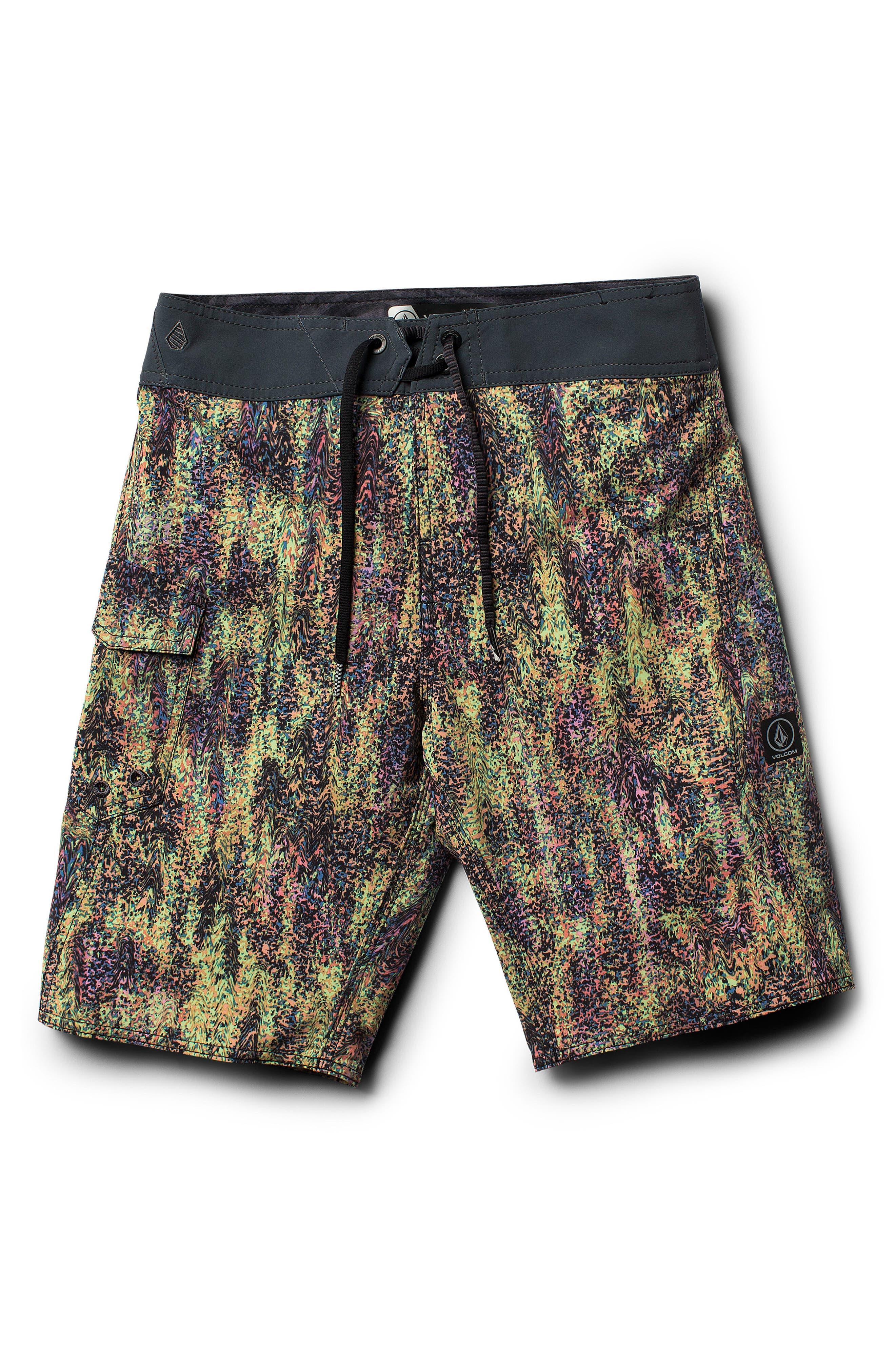Plasm Mod Board Shorts,                             Main thumbnail 1, color,                             020