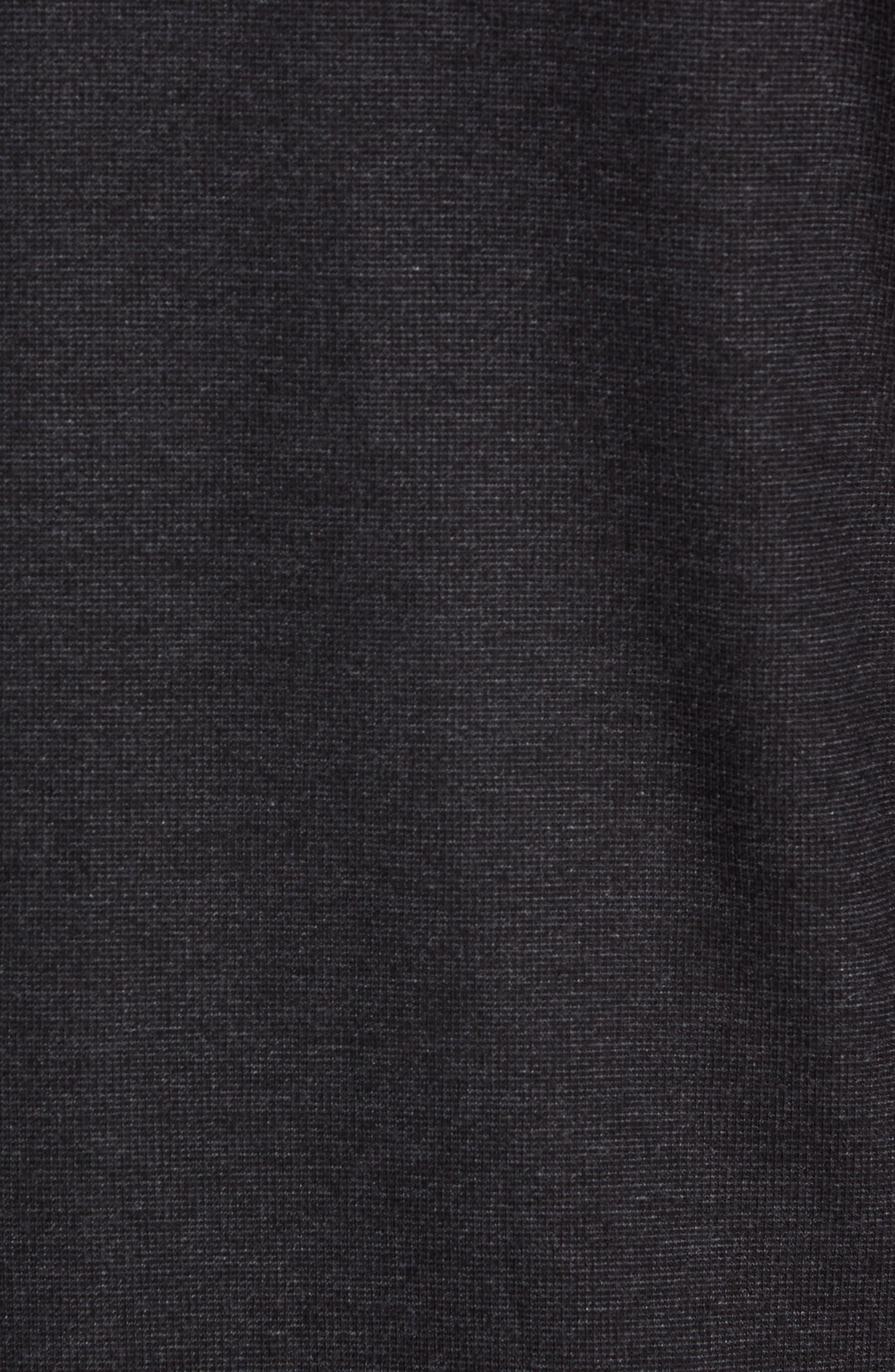 Trim Fit Clean Line Shirt,                             Alternate thumbnail 5, color,                             001
