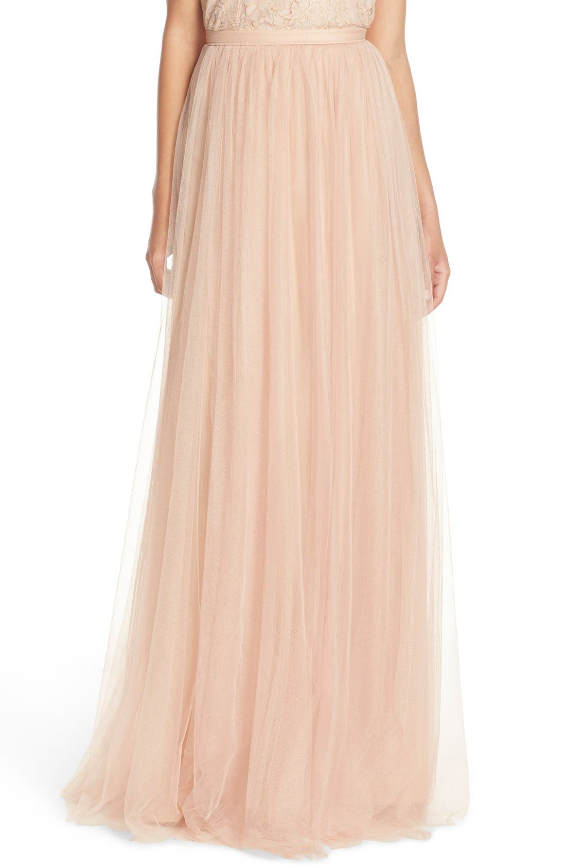 Arabella Tulle Ballgown Skirt,                             Main thumbnail 1, color,                             685