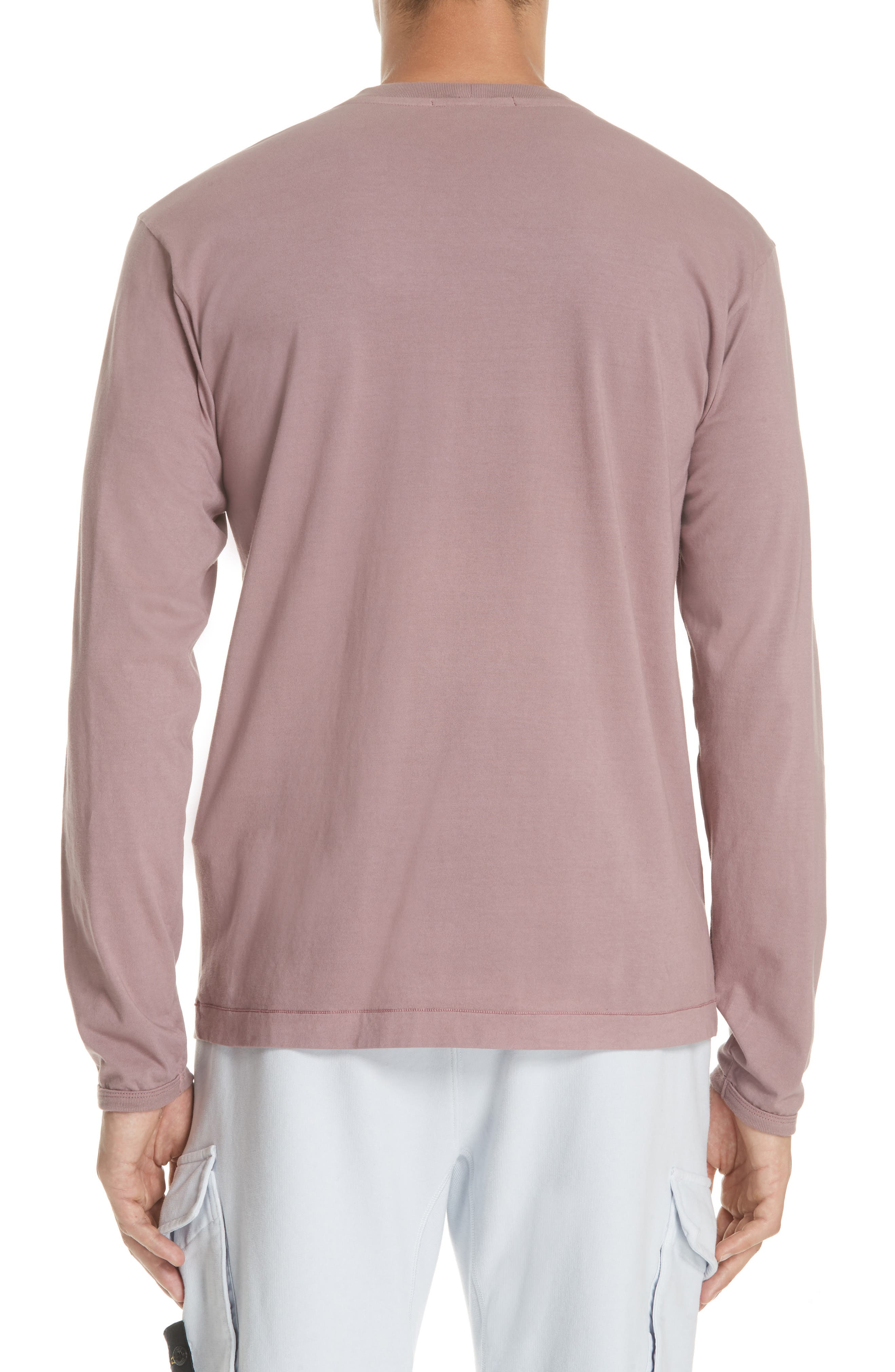 Long Sleeve T-Shirt,                             Alternate thumbnail 2, color,                             ROSE QUARTZ