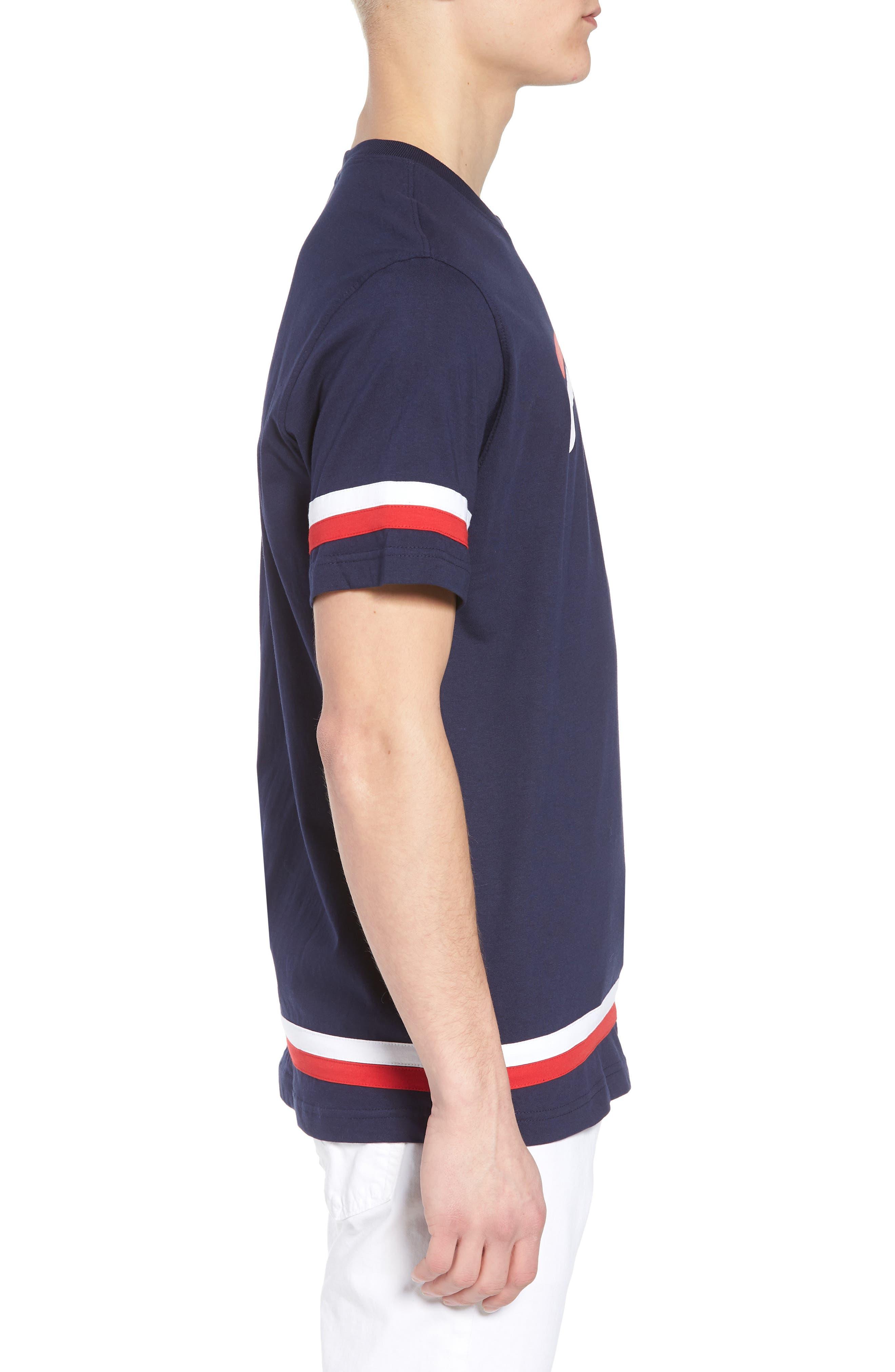 Riley T-Shirt,                             Alternate thumbnail 3, color,                             410