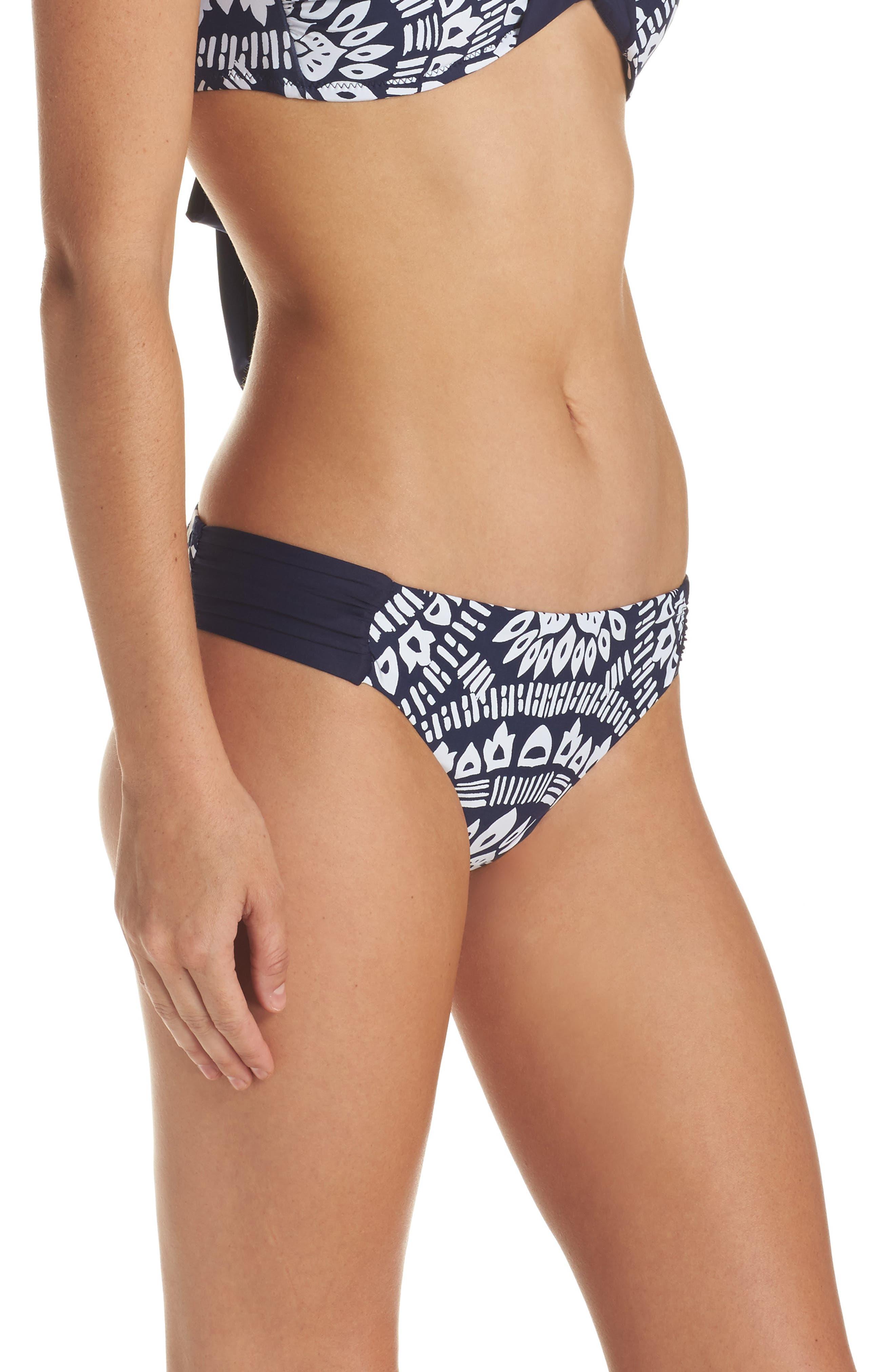 Indochine Hipster Bikini Bottoms,                             Alternate thumbnail 3, color,
