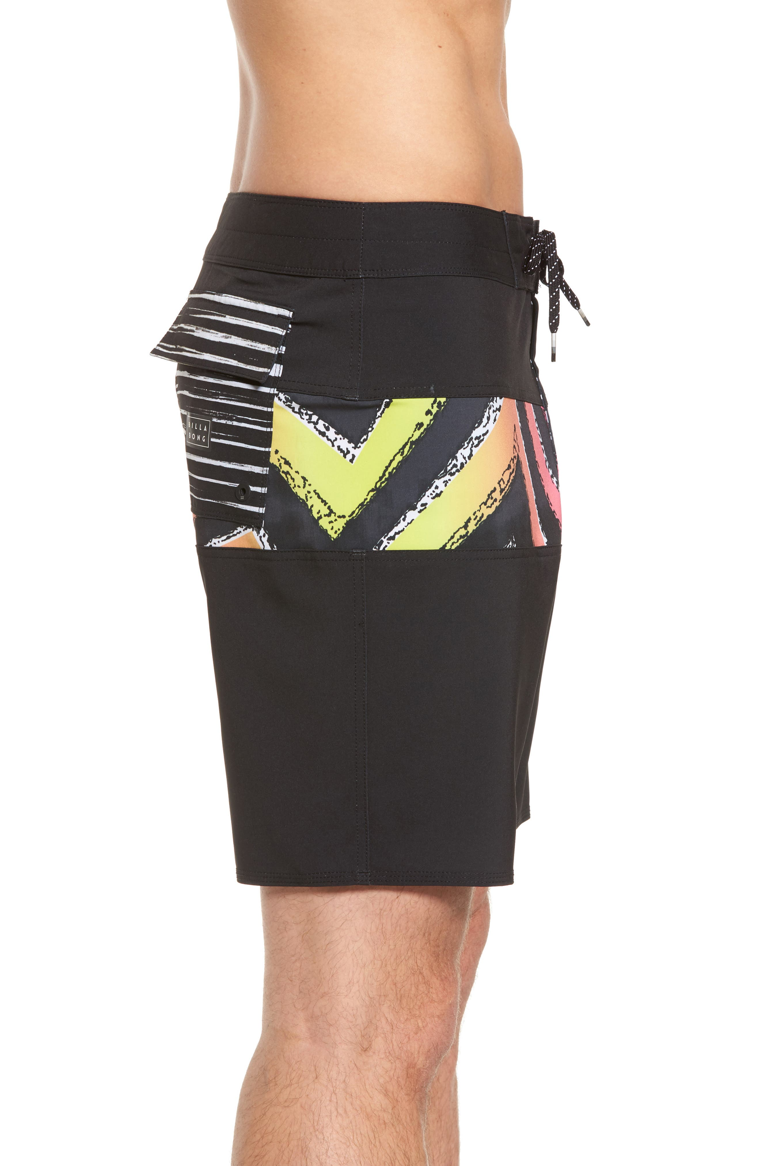Tribong X Board Shorts,                             Alternate thumbnail 3, color,                             001