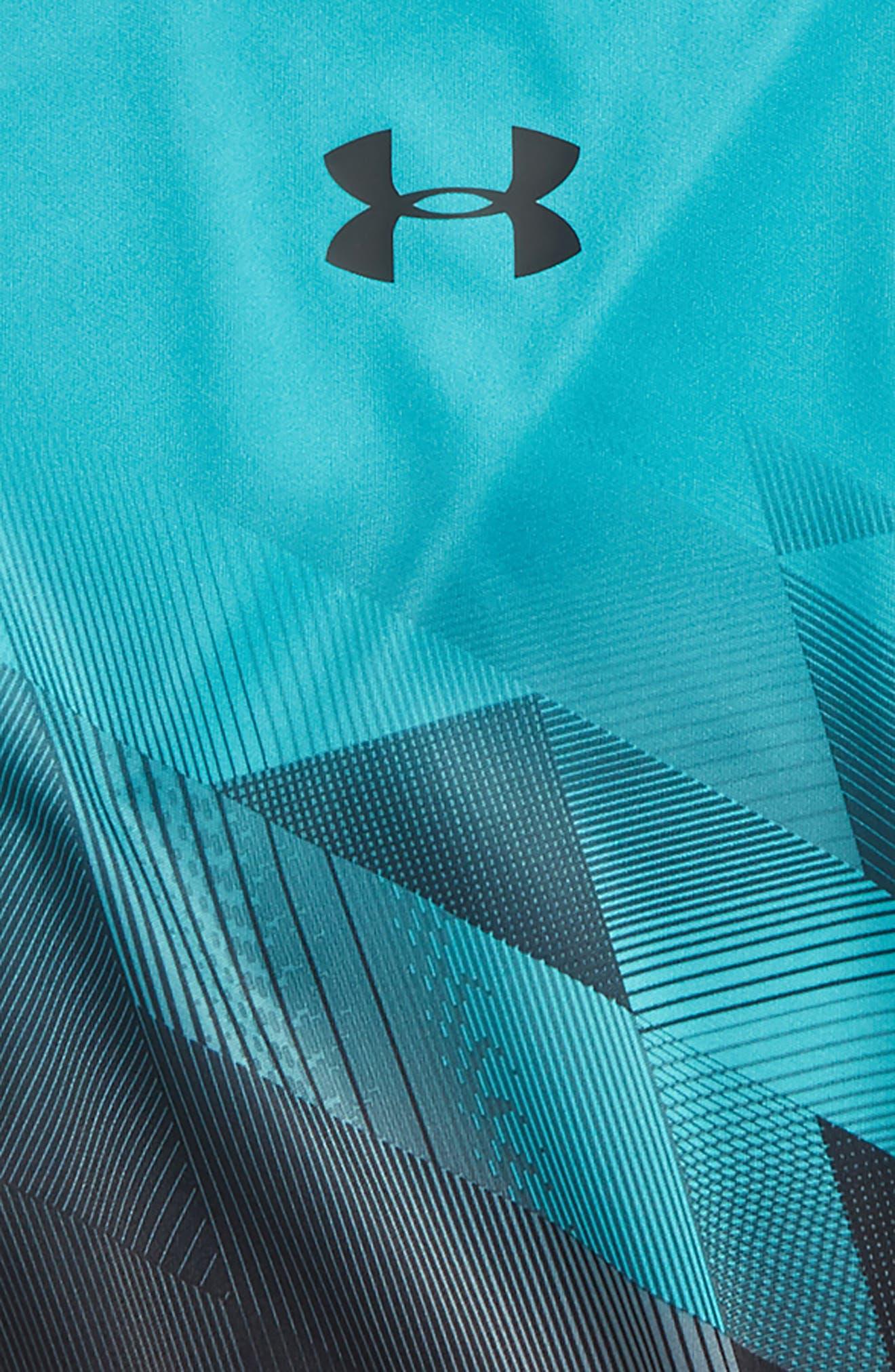 Electric Field HeatGear<sup>®</sup> Shirt,                             Alternate thumbnail 2, color,                             442
