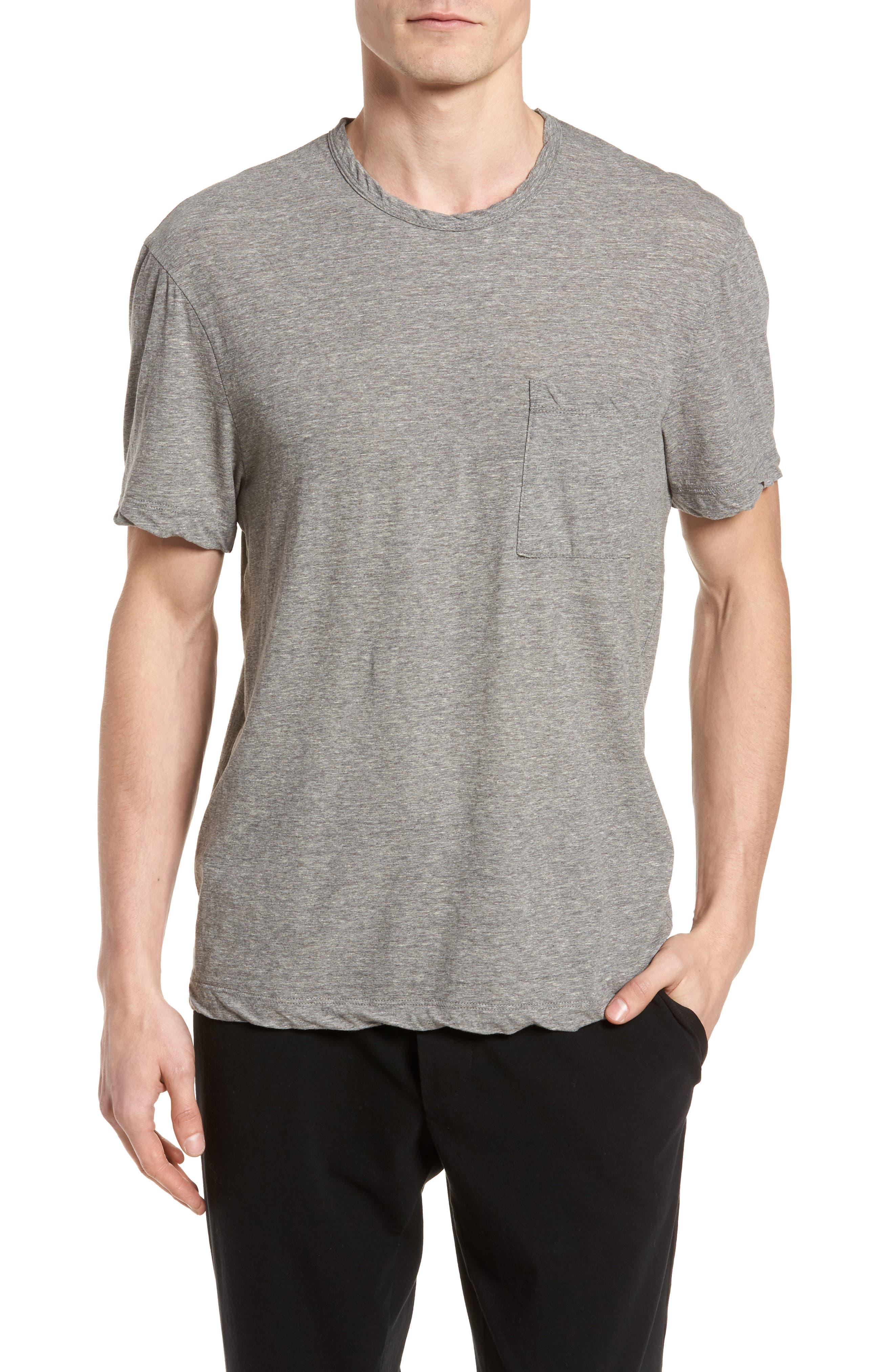 High Twist Regular Fit T-Shirt,                         Main,                         color, HEATHER GREY