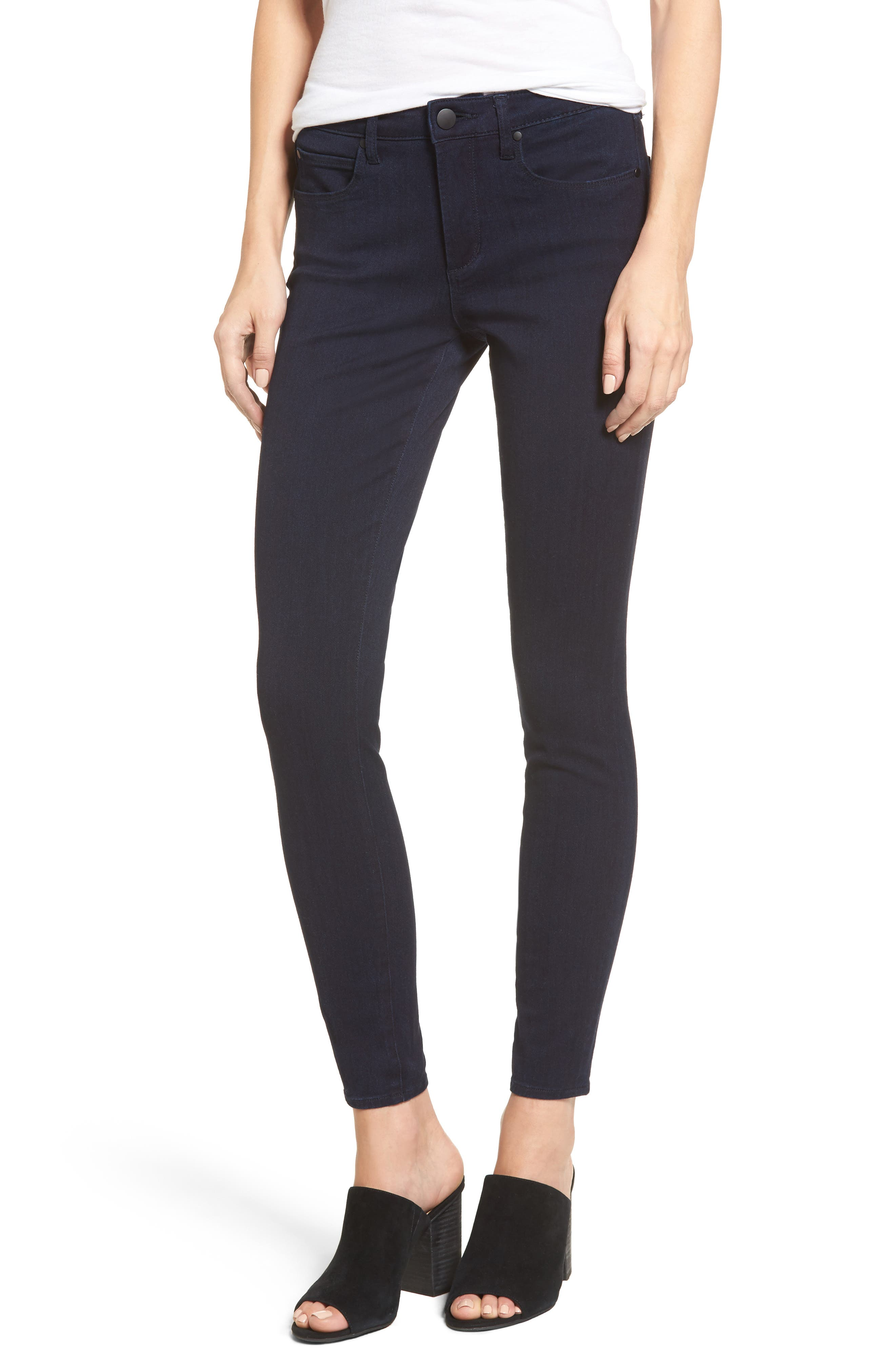 Mid Rise Skinny Jeans,                             Main thumbnail 1, color,                             401