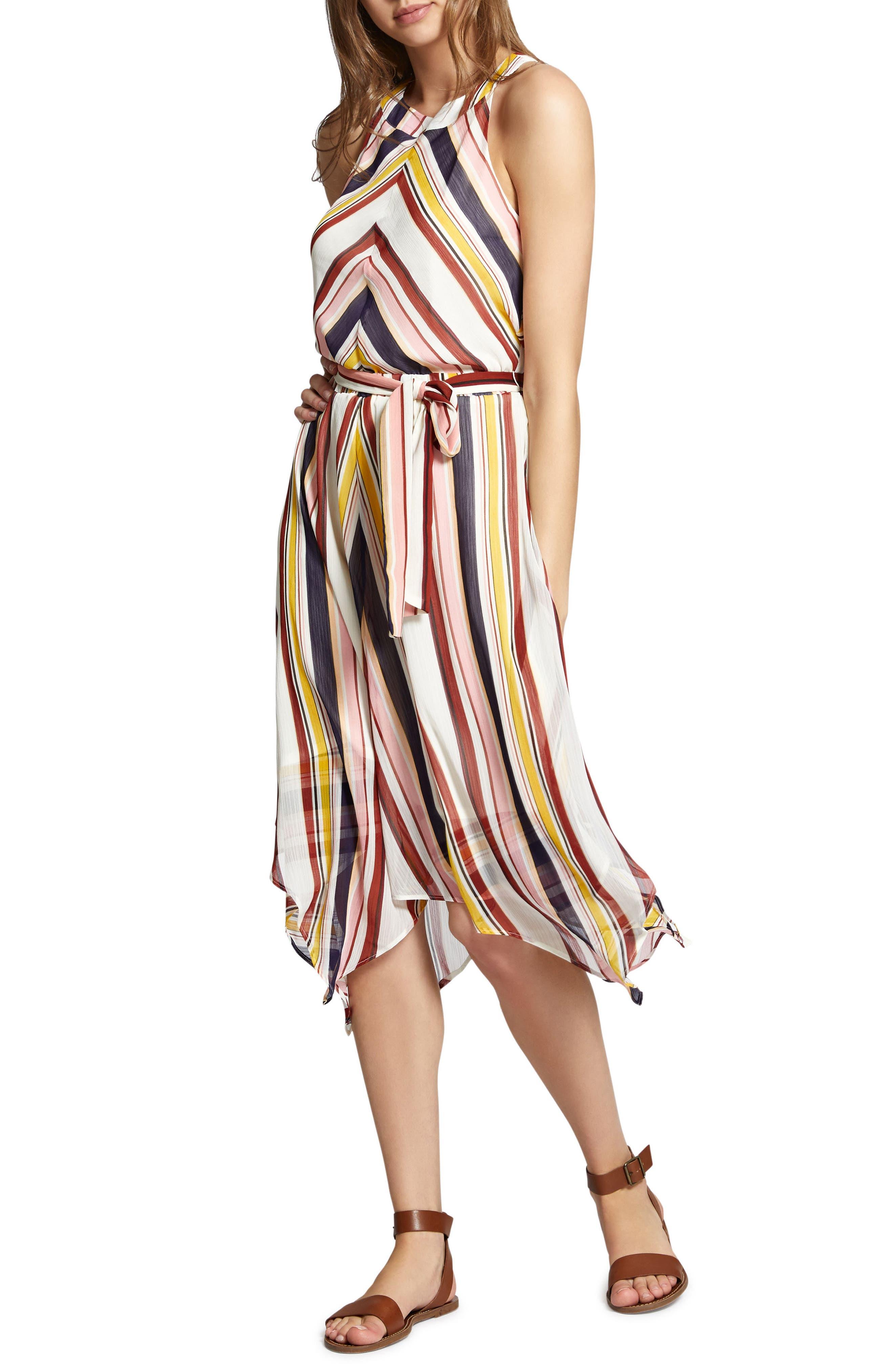 Levels of the Desert Midi Dress,                             Main thumbnail 1, color,                             903