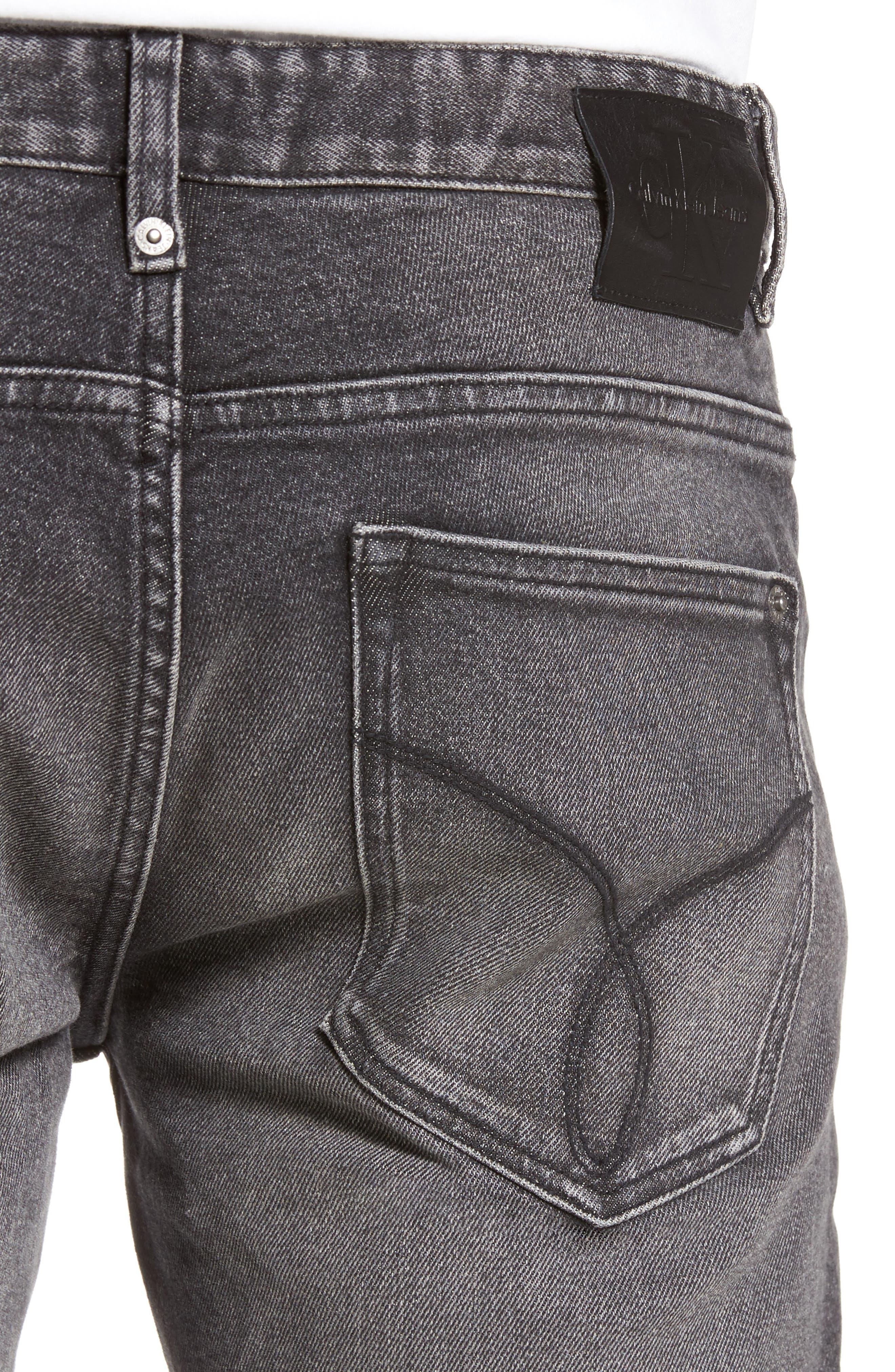 Skinny Jeans,                             Alternate thumbnail 4, color,                             001