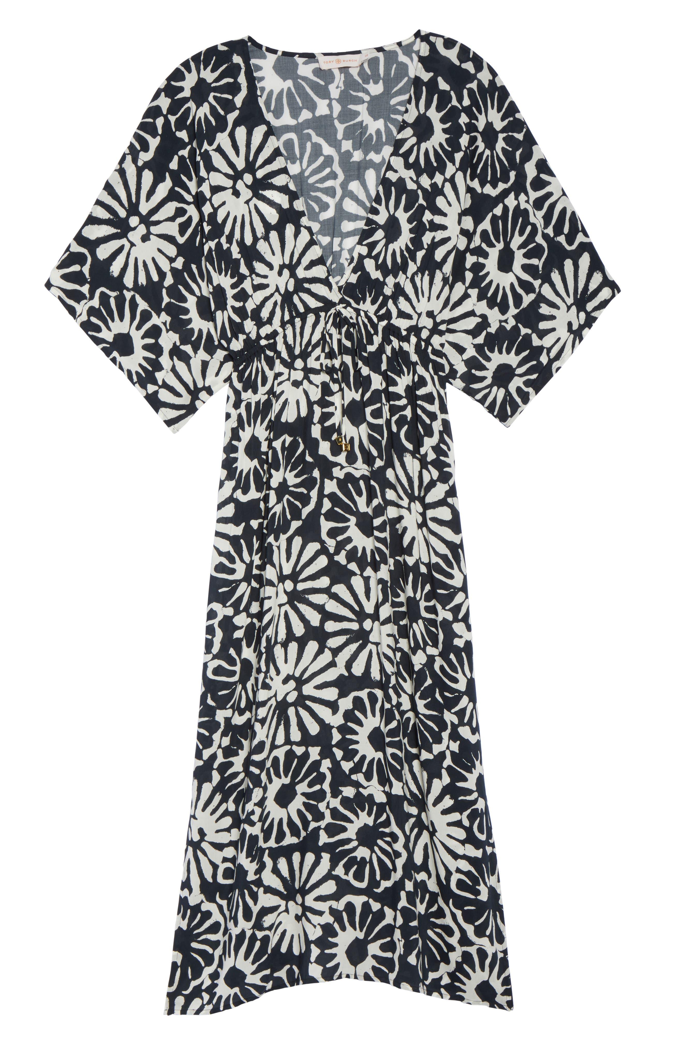 Pomelo Floral Cover-Up Dress,                             Alternate thumbnail 6, color,