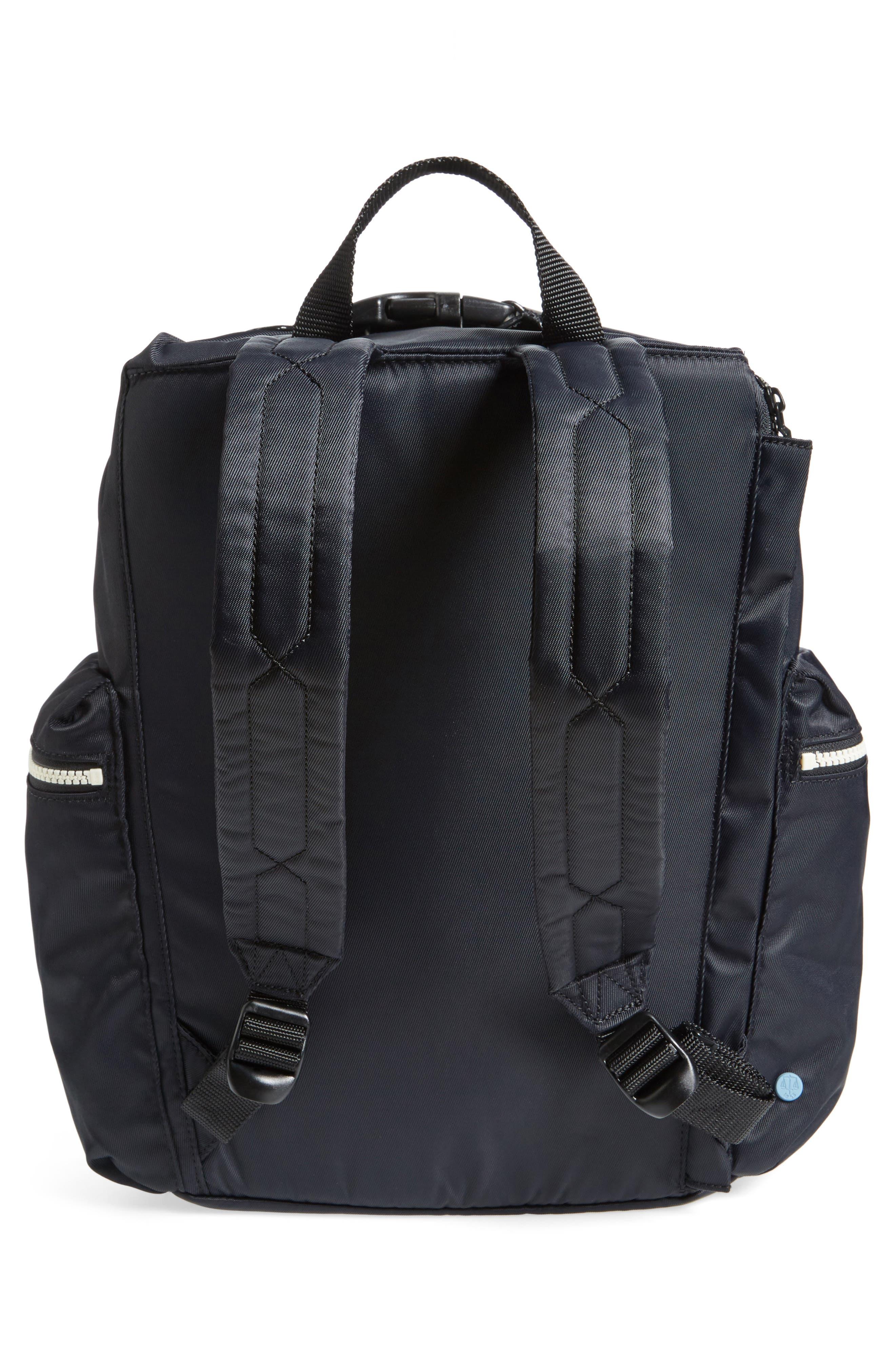 Original Top Clip Nylon Backpack,                             Alternate thumbnail 5, color,