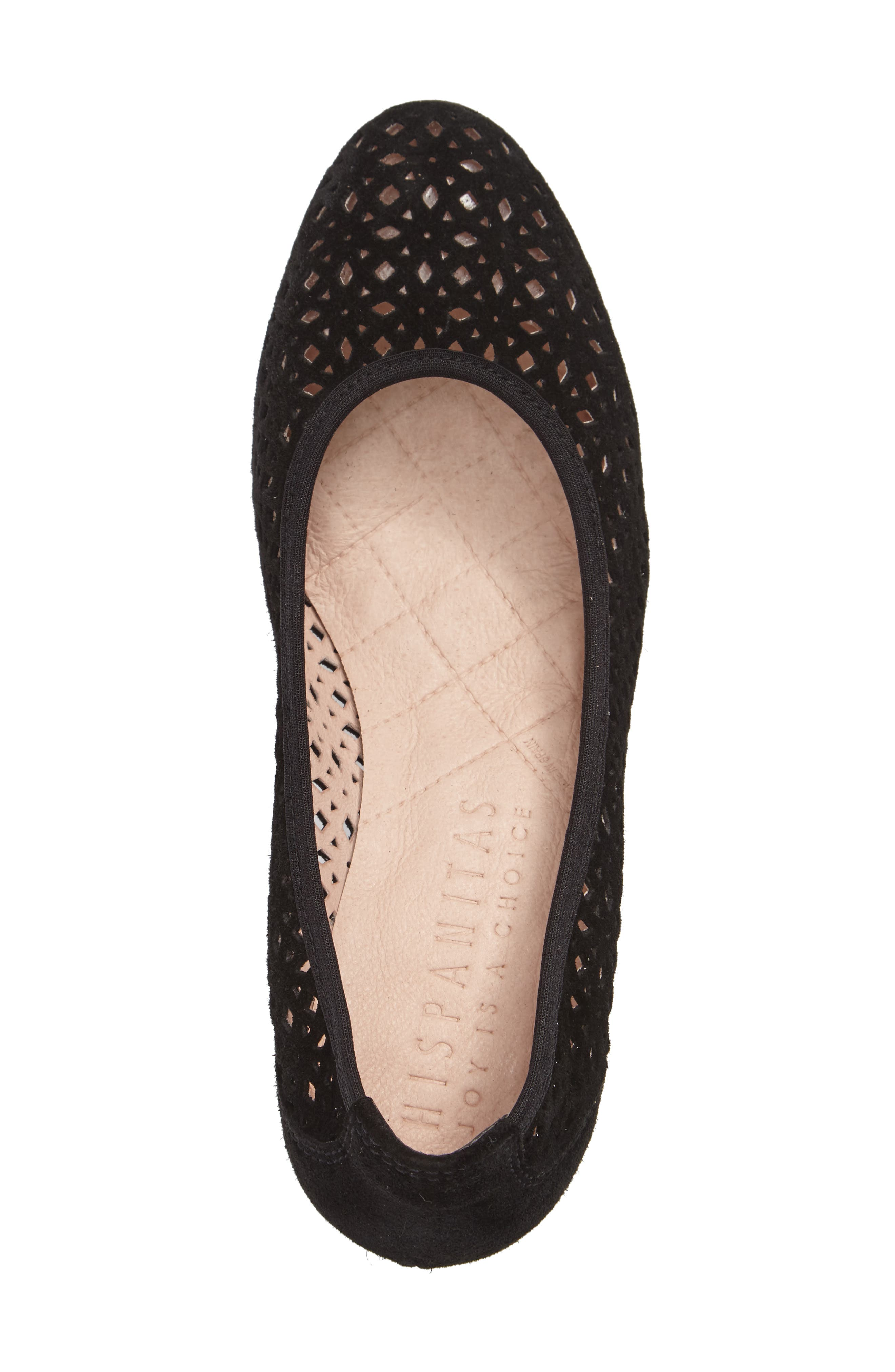 HISPANITAS,                             Jovanna Perforated Pump,                             Alternate thumbnail 3, color,                             001