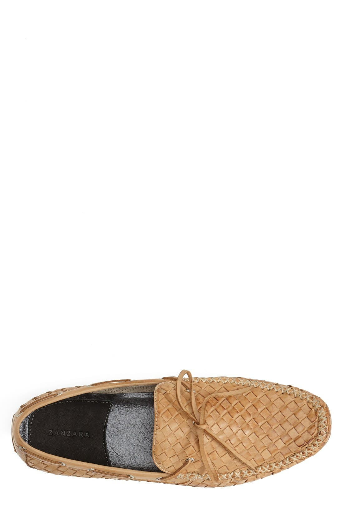 Leather Loafer,                             Alternate thumbnail 24, color,