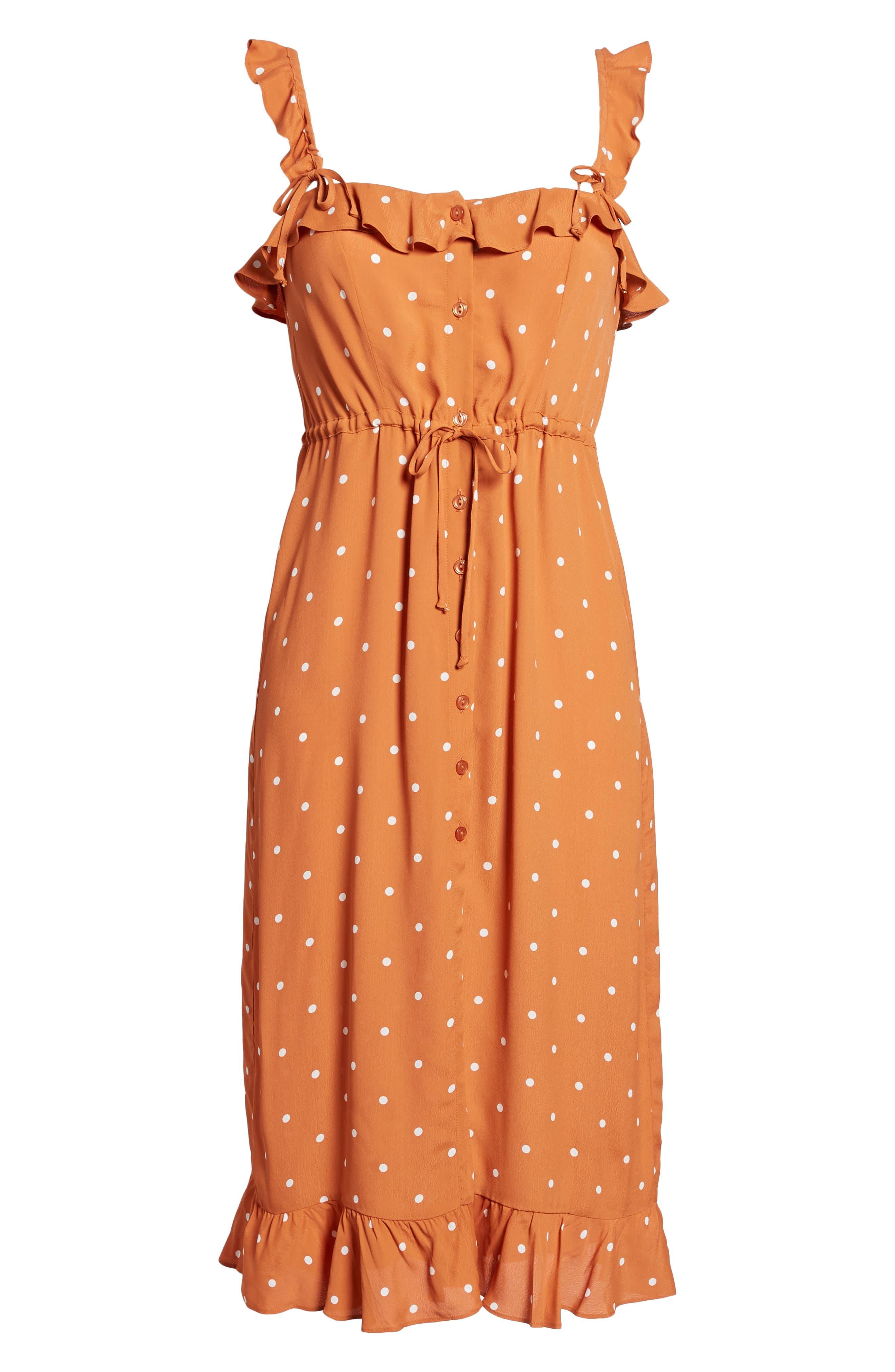 Natalia Midi Dress,                             Alternate thumbnail 12, color,