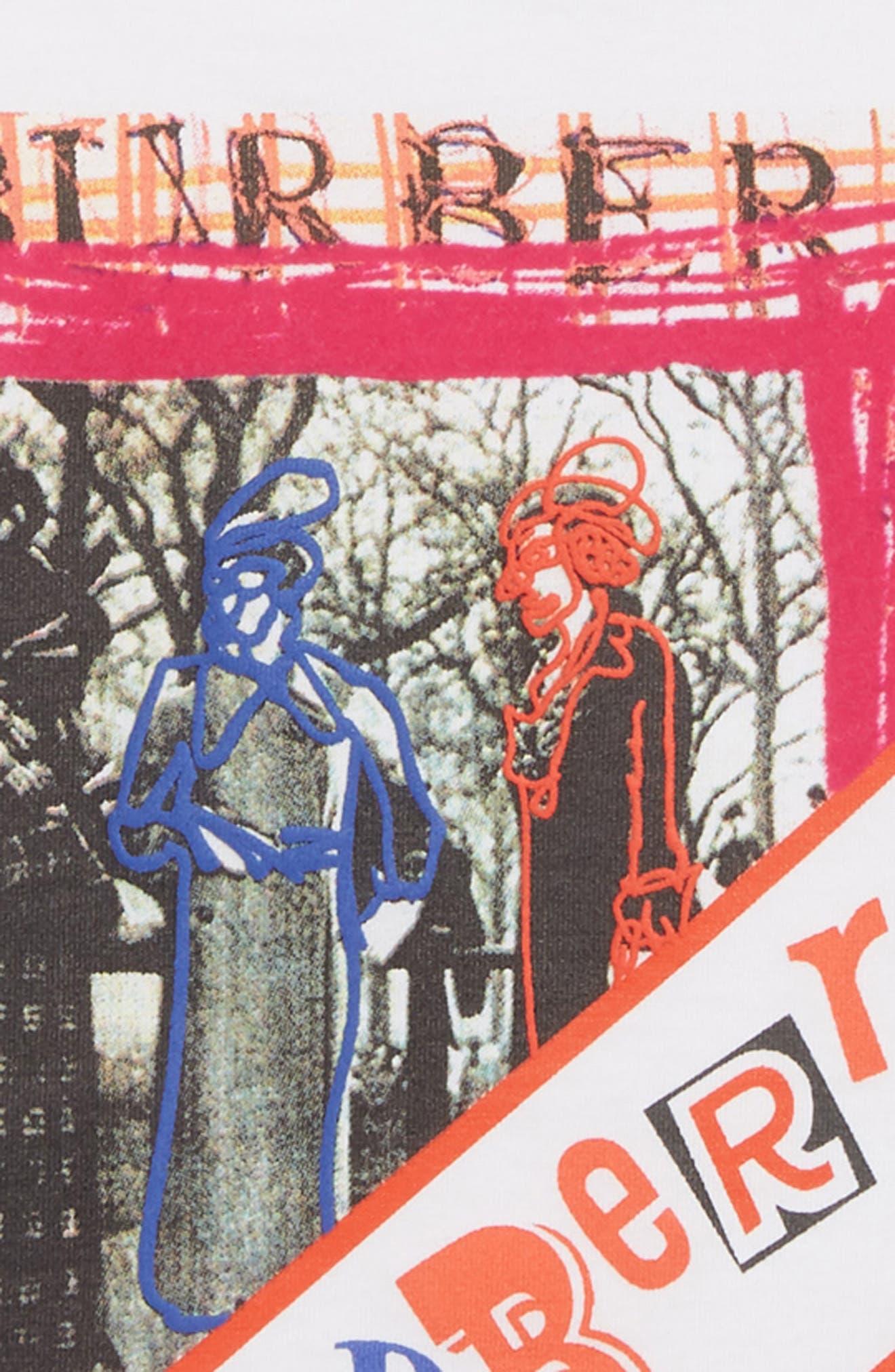 Sweet Wrap Graphic Tee,                             Alternate thumbnail 2, color,                             WHITE