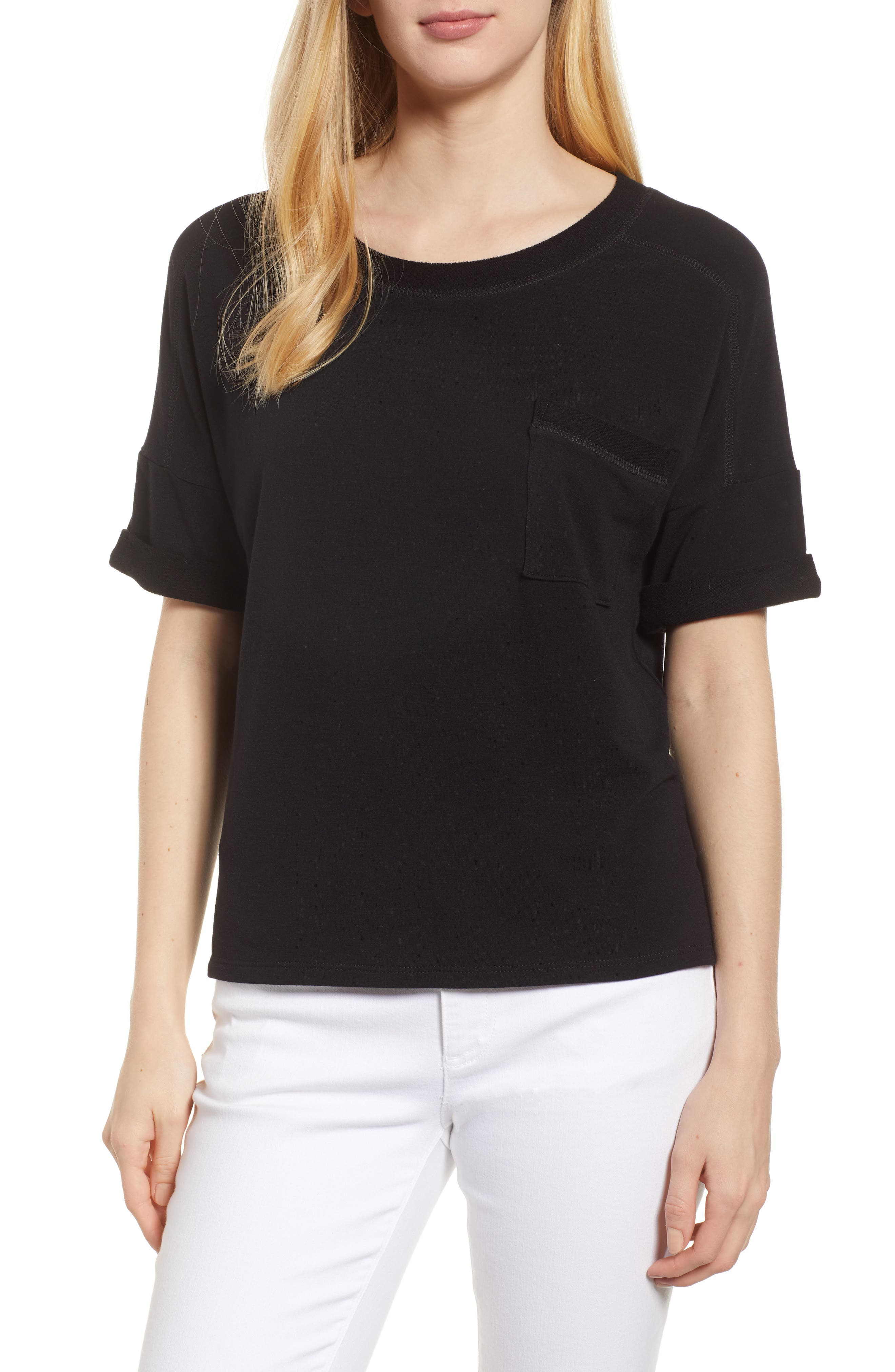 Off-Duty Pocket Tee,                         Main,                         color, 001