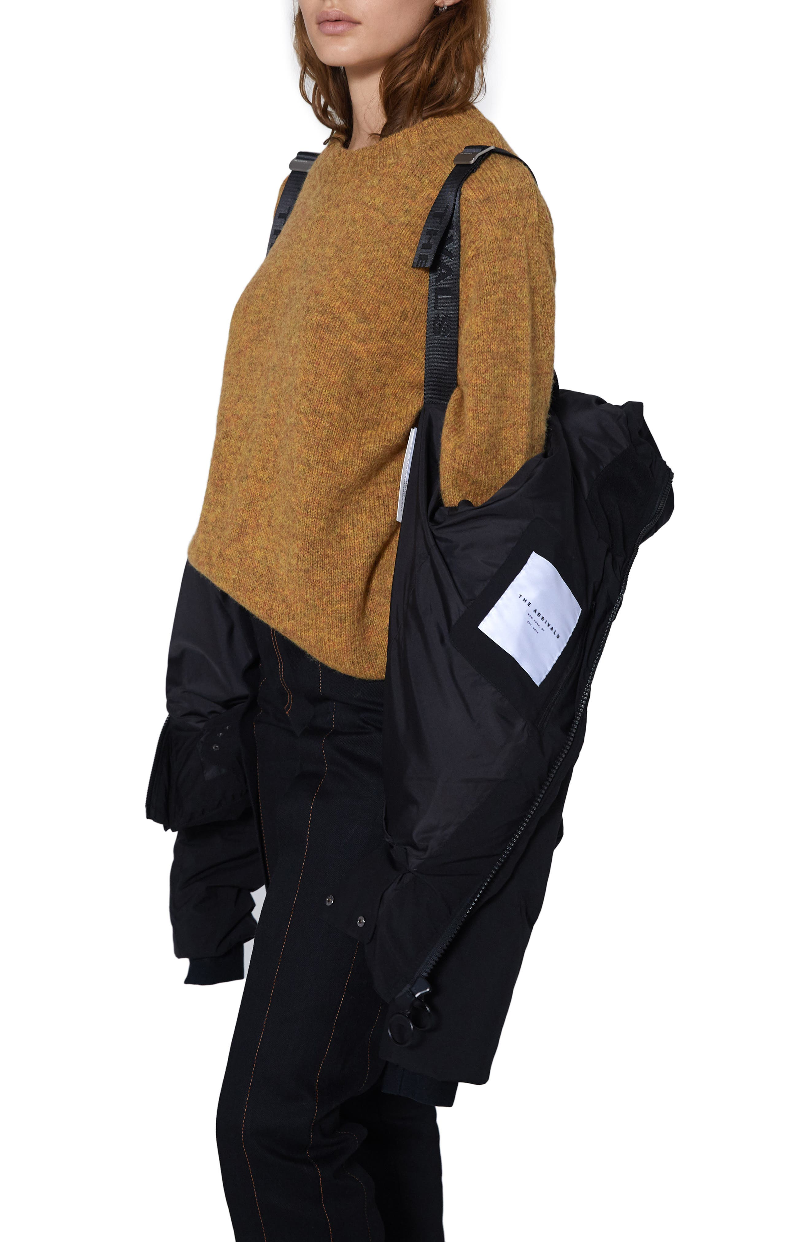 THE ARRIVALS,                             Performance Down Puffer Jacket,                             Alternate thumbnail 3, color,                             001