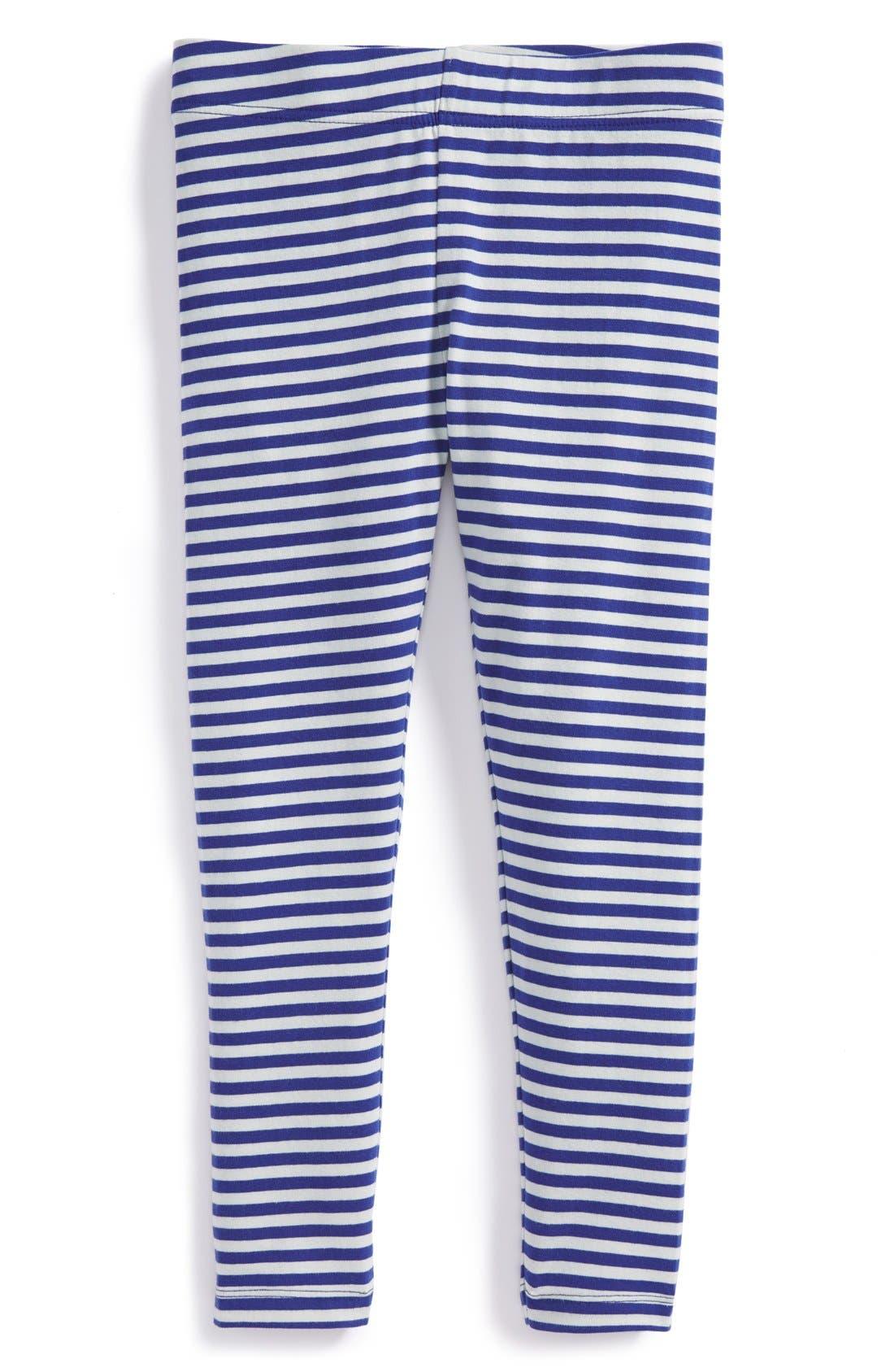 'Core' Striped Leggings,                             Main thumbnail 9, color,