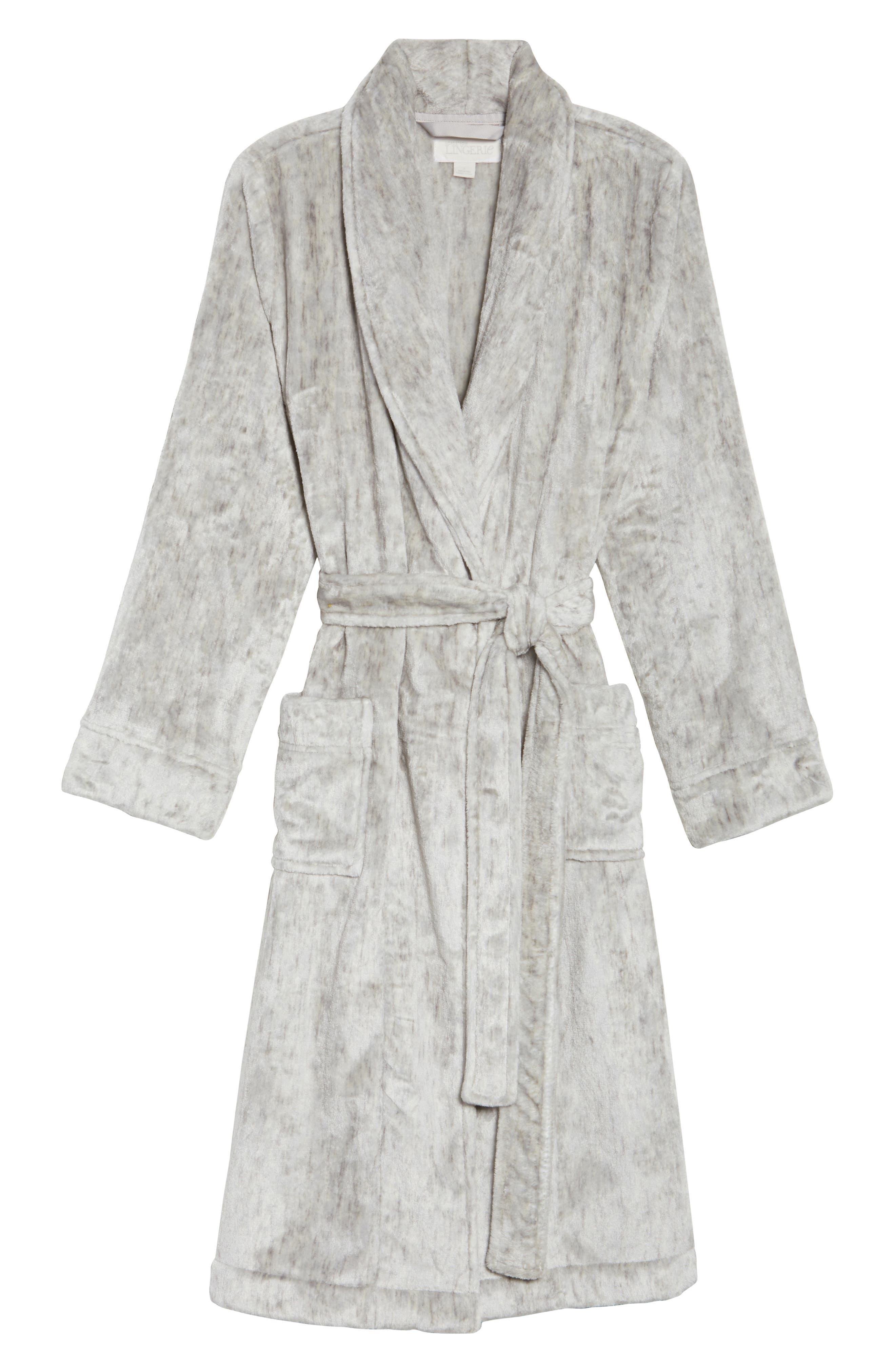 Nordstrom So Soft Plush Robe,                             Alternate thumbnail 16, color,