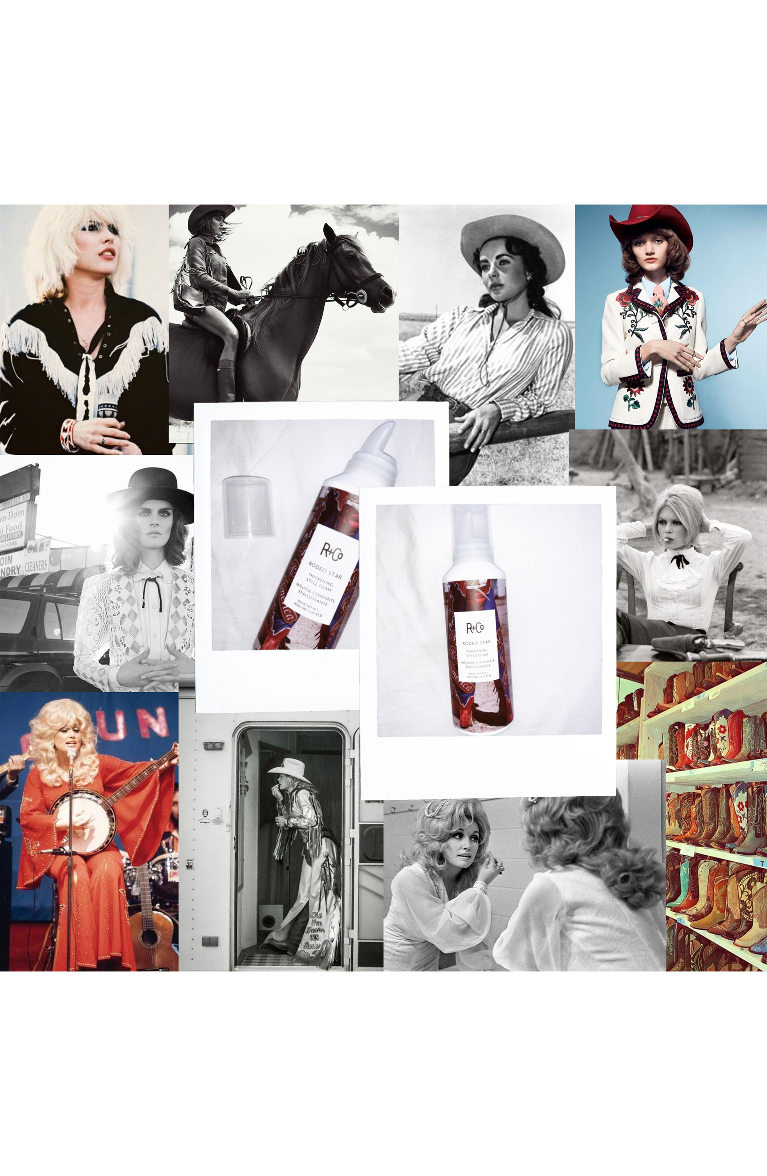 SPACE.NK.apothecary R+Co Rodeo Star Thickening Style Foam,                             Alternate thumbnail 3, color,                             000