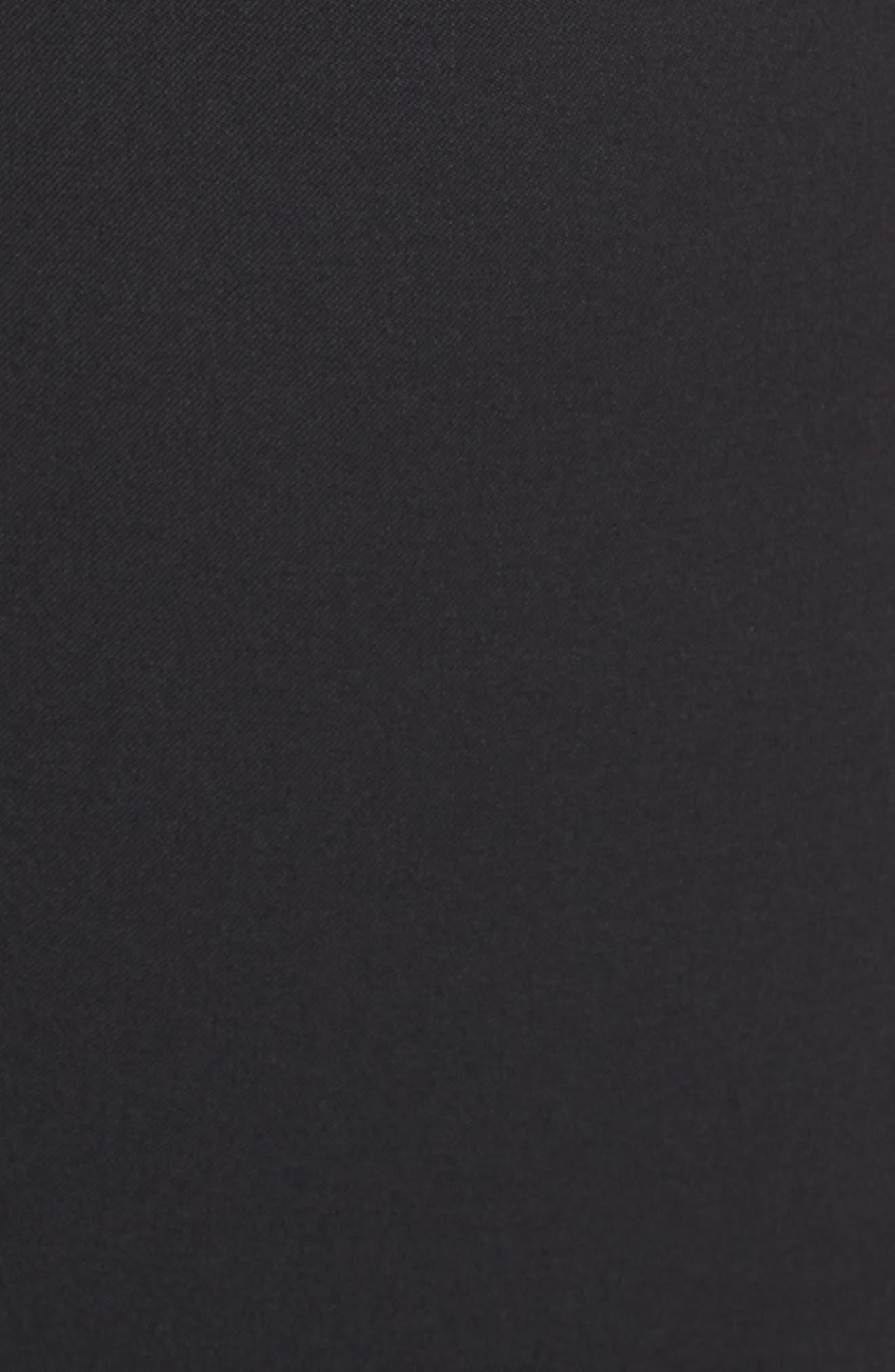 Tuxedo Detail Suit Trousers,                             Alternate thumbnail 5, color,                             001