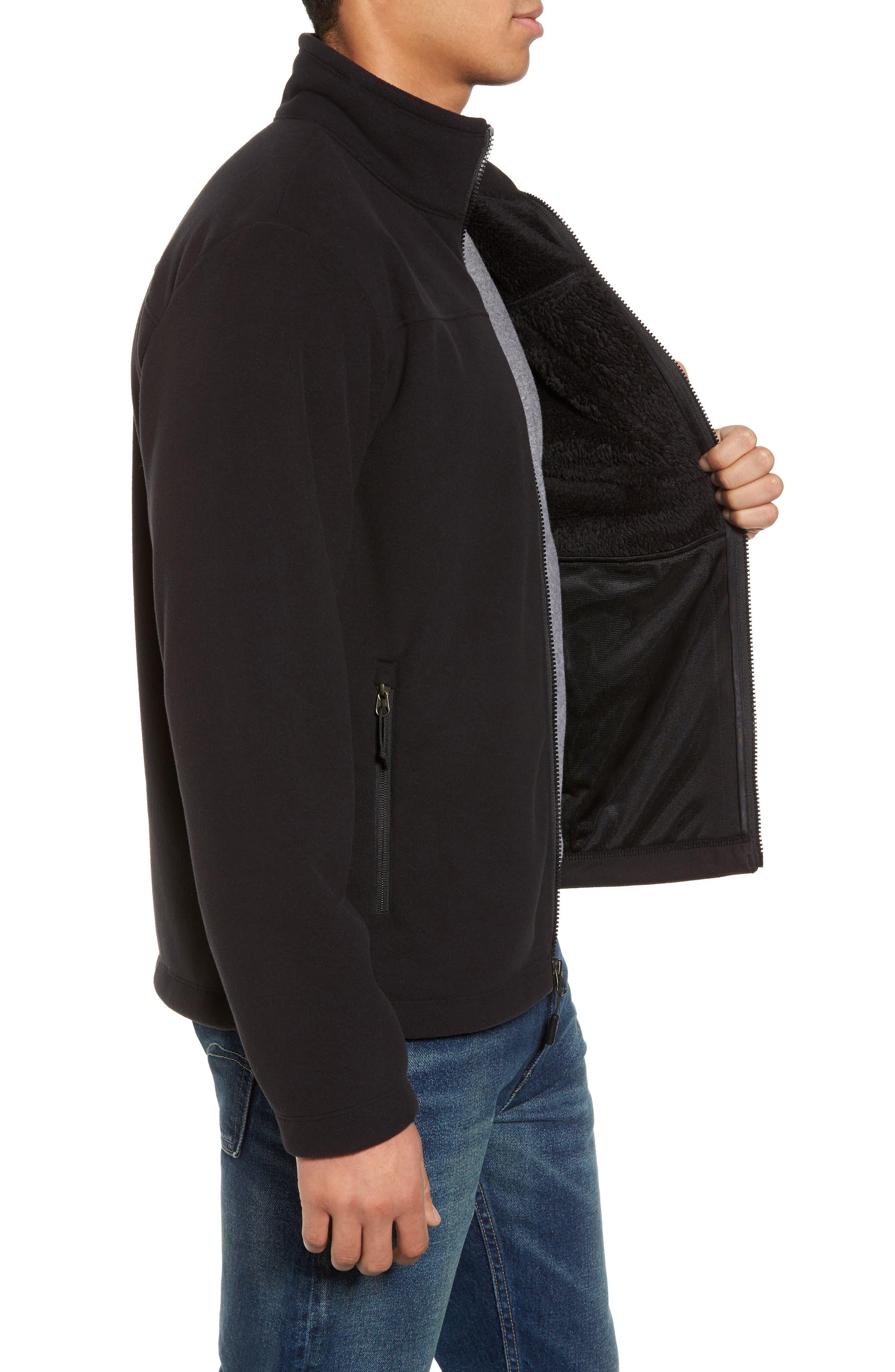 'Chimborazo' Zip Front Fleece Jacket,                             Alternate thumbnail 24, color,