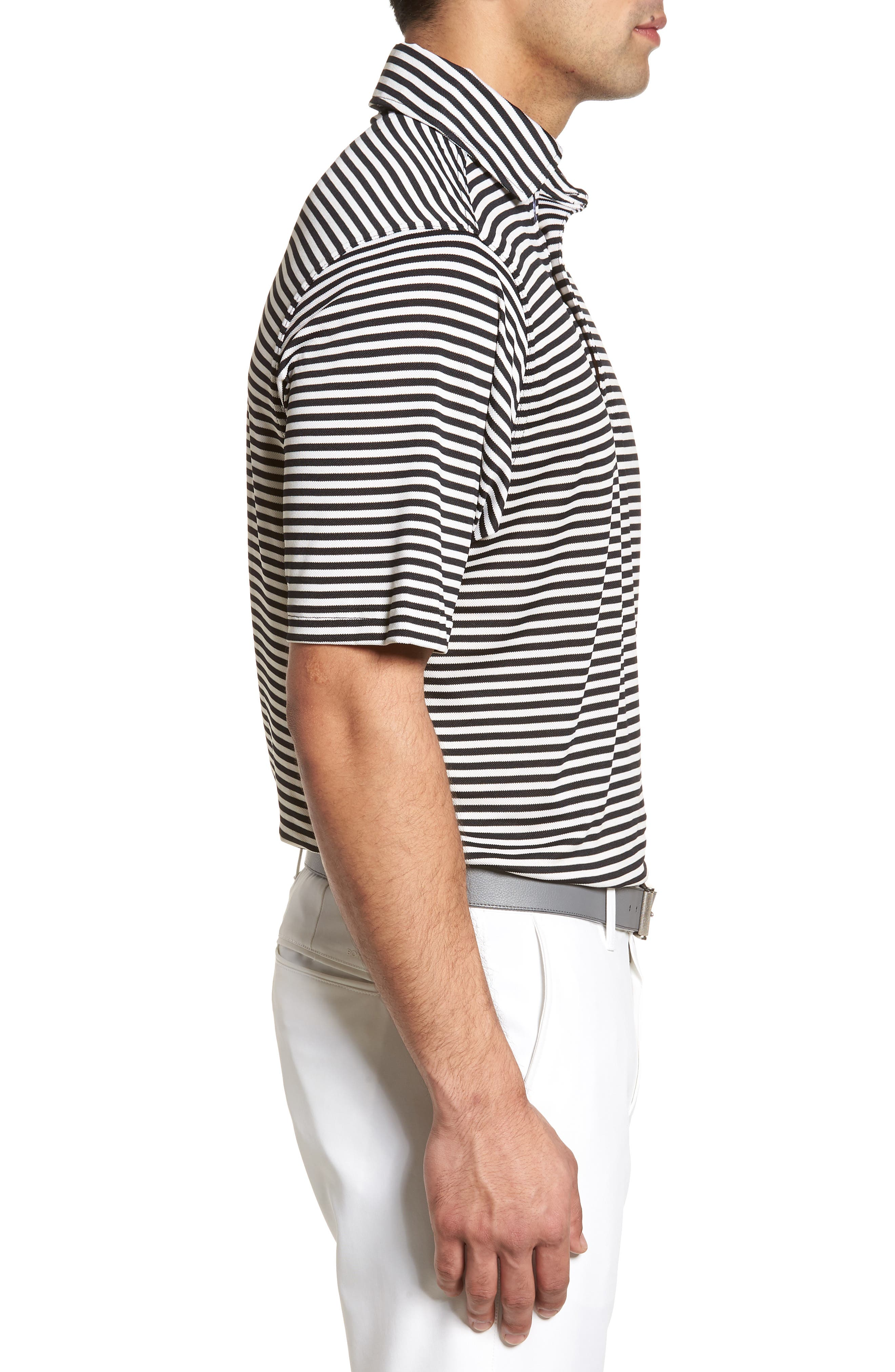 XH2O Feed Stripe Stretch Golf Polo,                             Alternate thumbnail 39, color,