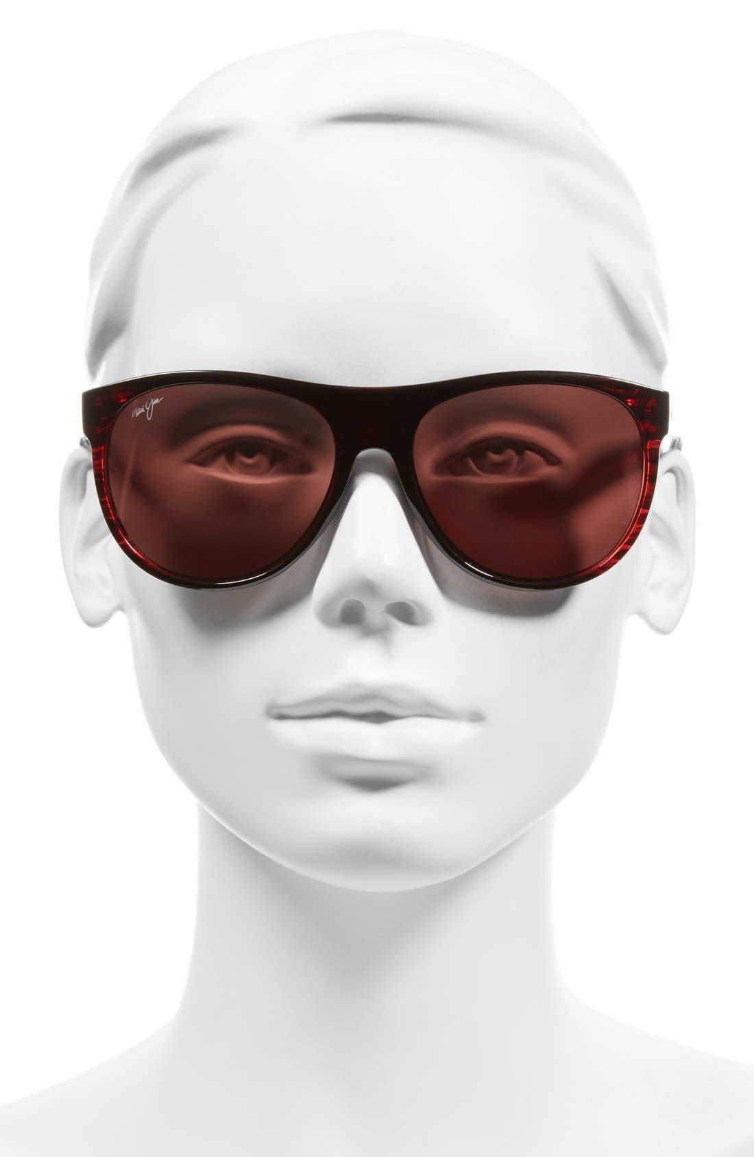 Rising Sun 57mm PolarizedPlus2<sup>®</sup> Sunglasses,                             Alternate thumbnail 6, color,
