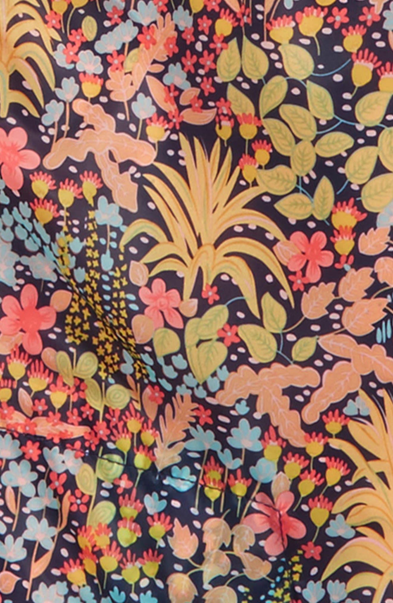 Scotch R'Belle Print Colorblock Hooded Jacket,                             Alternate thumbnail 2, color,                             950