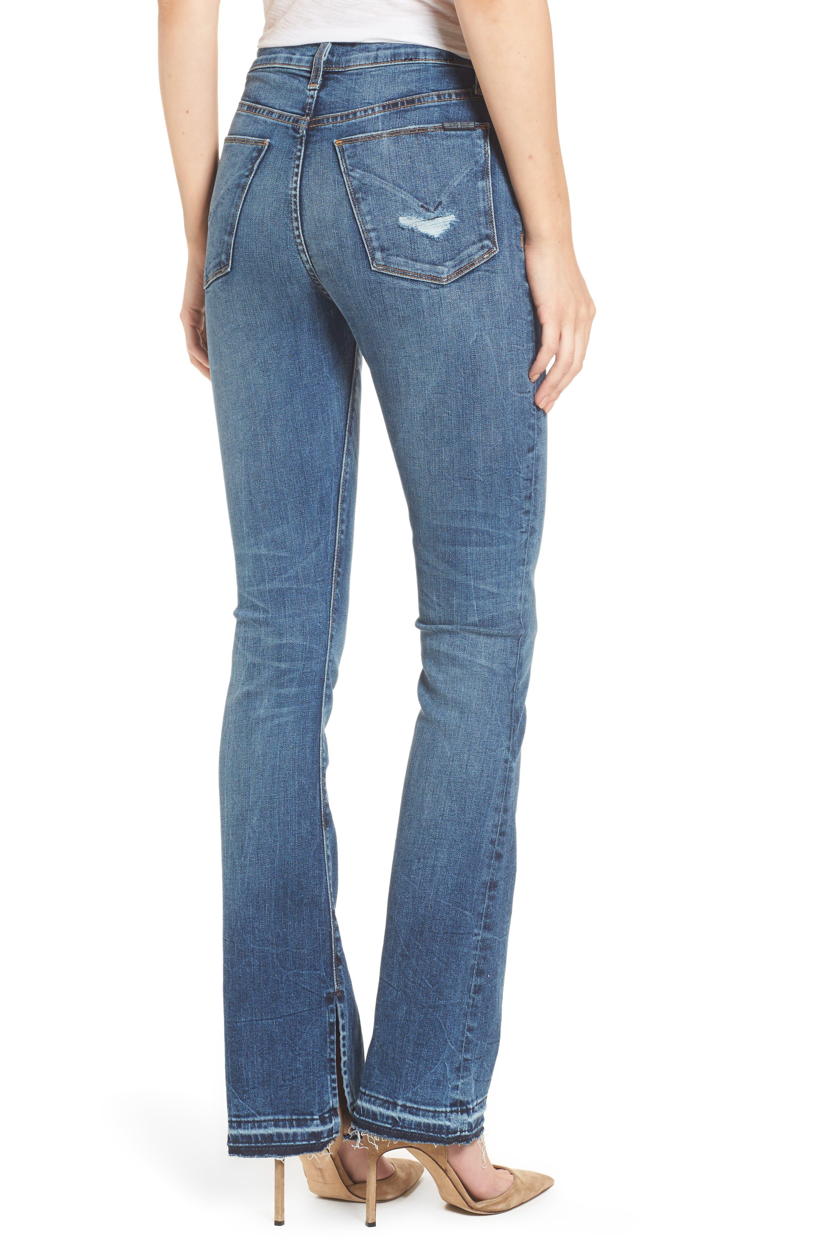 Heartbreaker High Waist Bootcut Jeans,                             Alternate thumbnail 2, color,                             SPLIT SECOND