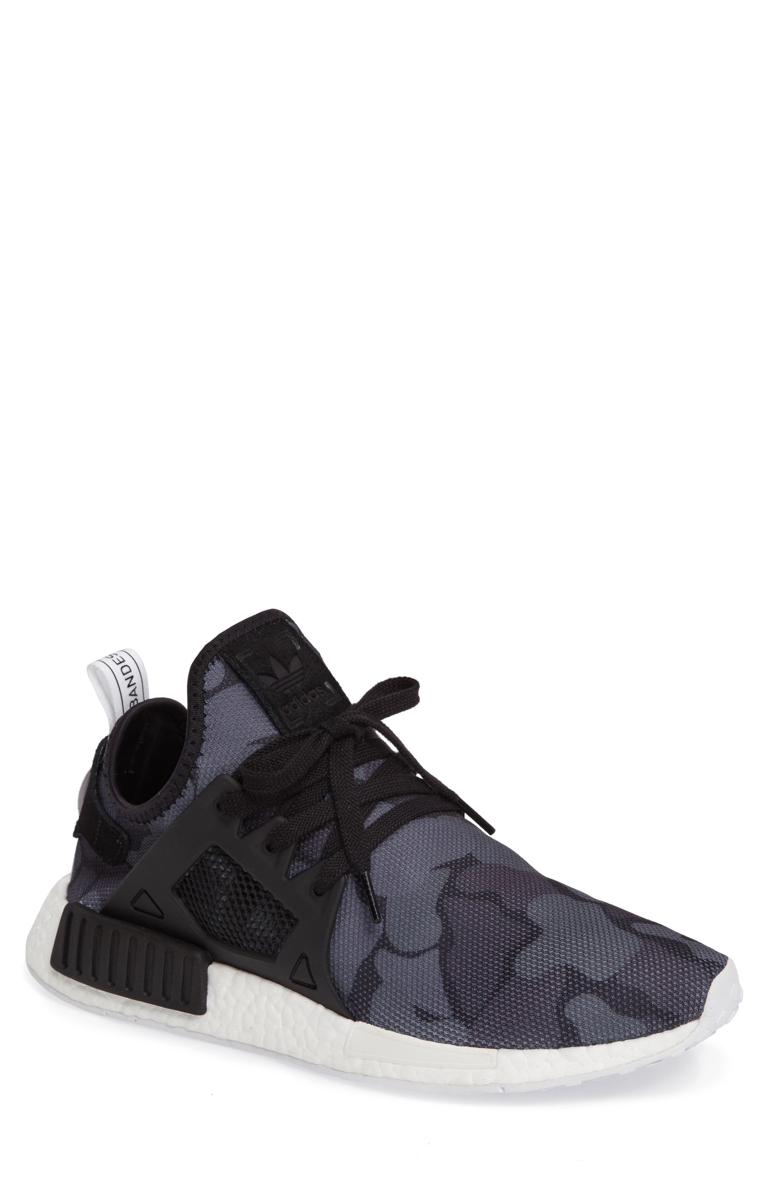 ADIDAS,                             NMD XR1 Camo Pack Sneakers,                             Main thumbnail 1, color,                             001