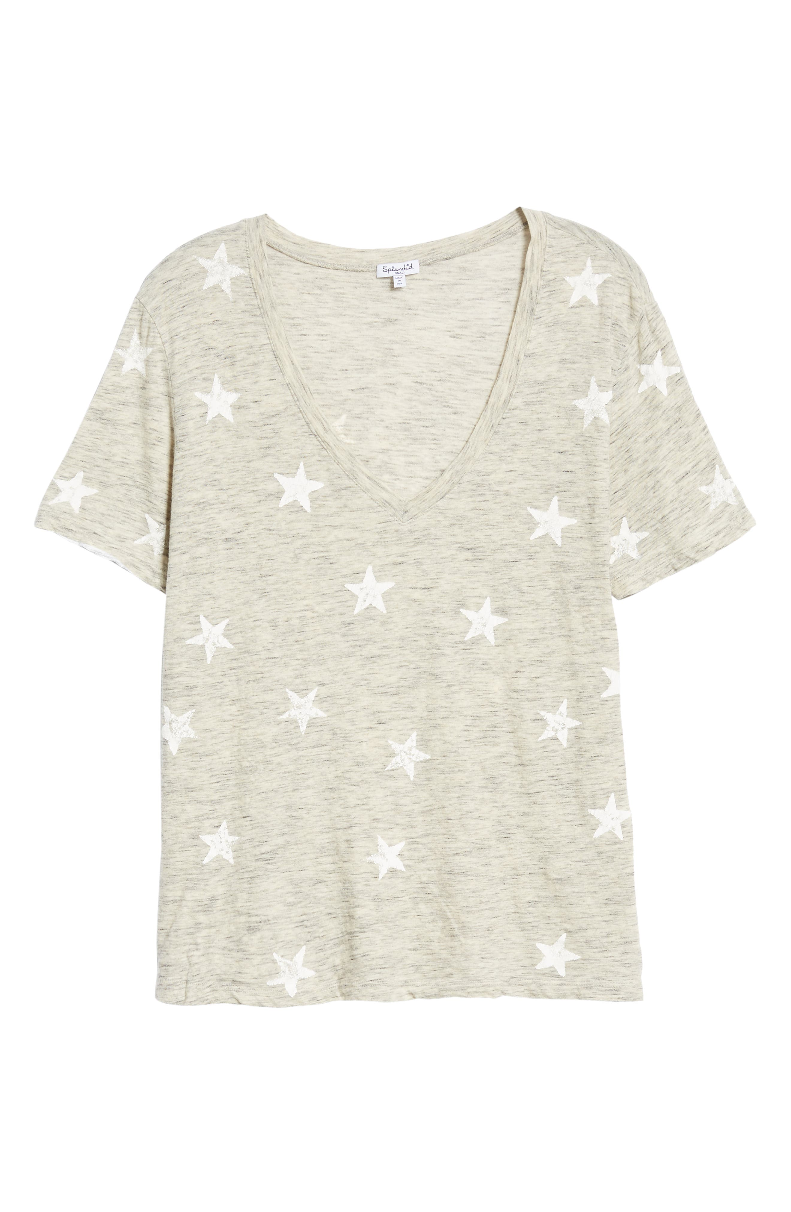 Star Tee,                             Alternate thumbnail 6, color,                             020