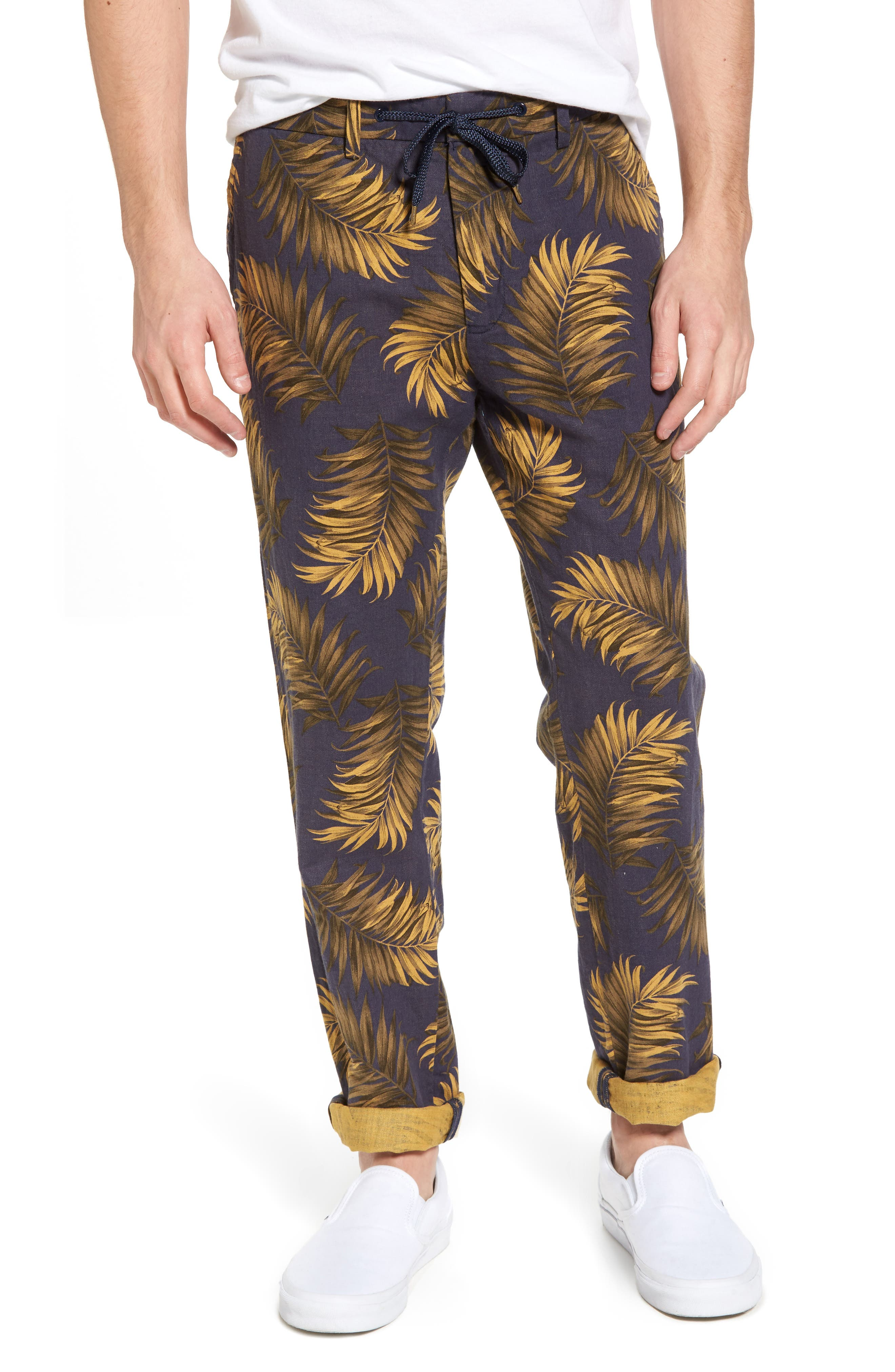 Linen Beach Pants,                         Main,                         color,