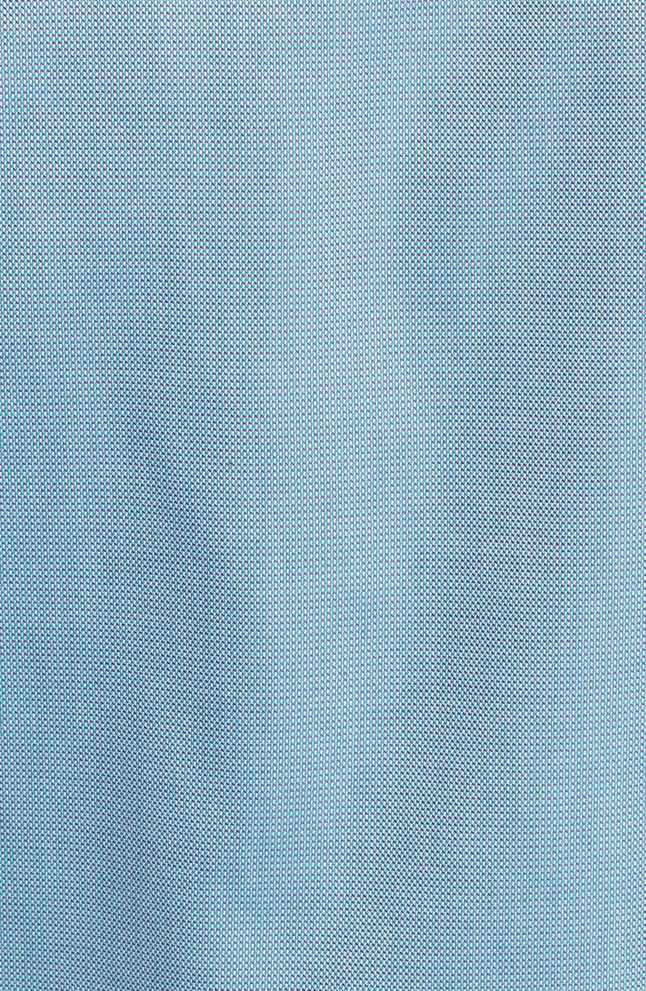 'Classic' Smartcare<sup>™</sup> Regular Fit Short Sleeve Cotton Sport Shirt,                             Alternate thumbnail 96, color,