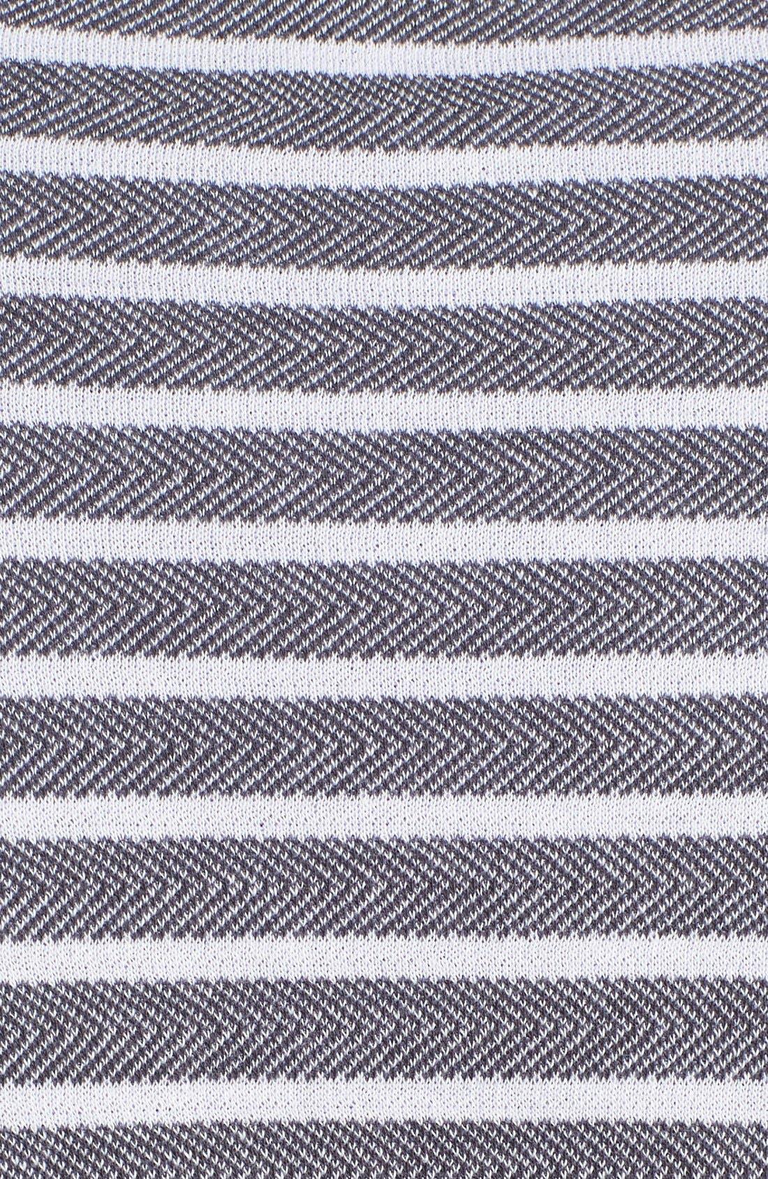 'Maritime' Shawl Collar Robe,                             Alternate thumbnail 5, color,                             407