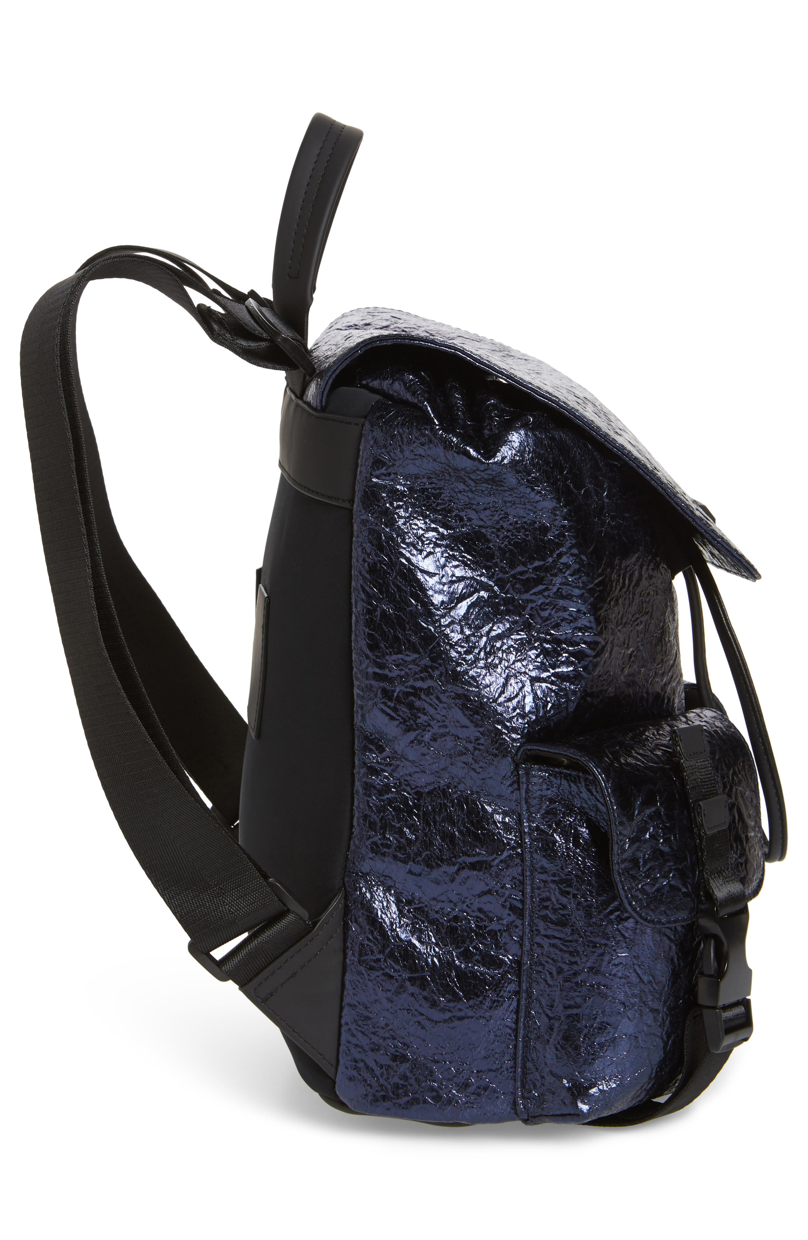 KENDALL + KYLIE,                             Parker Metallic Water Resistant Backpack,                             Alternate thumbnail 5, color,                             400