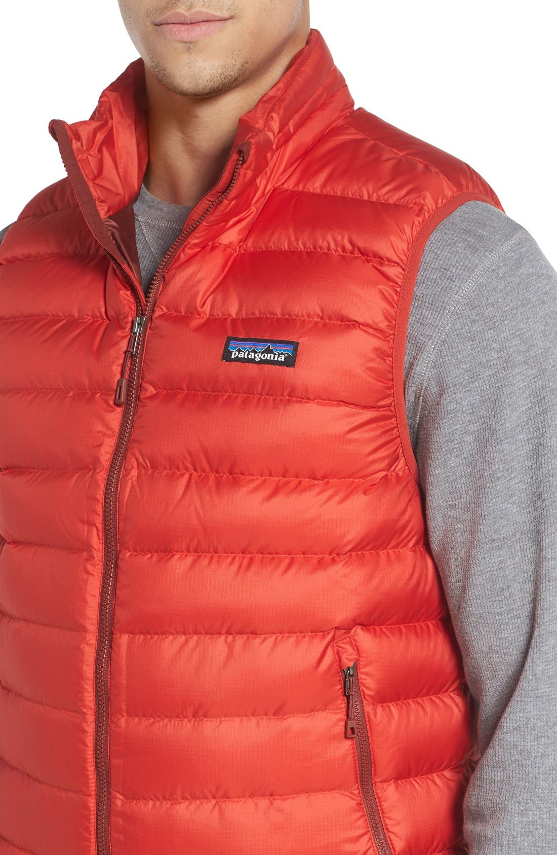 Windproof & Water Resistant 800 Fill Power Down Quilted Vest,                             Alternate thumbnail 33, color,