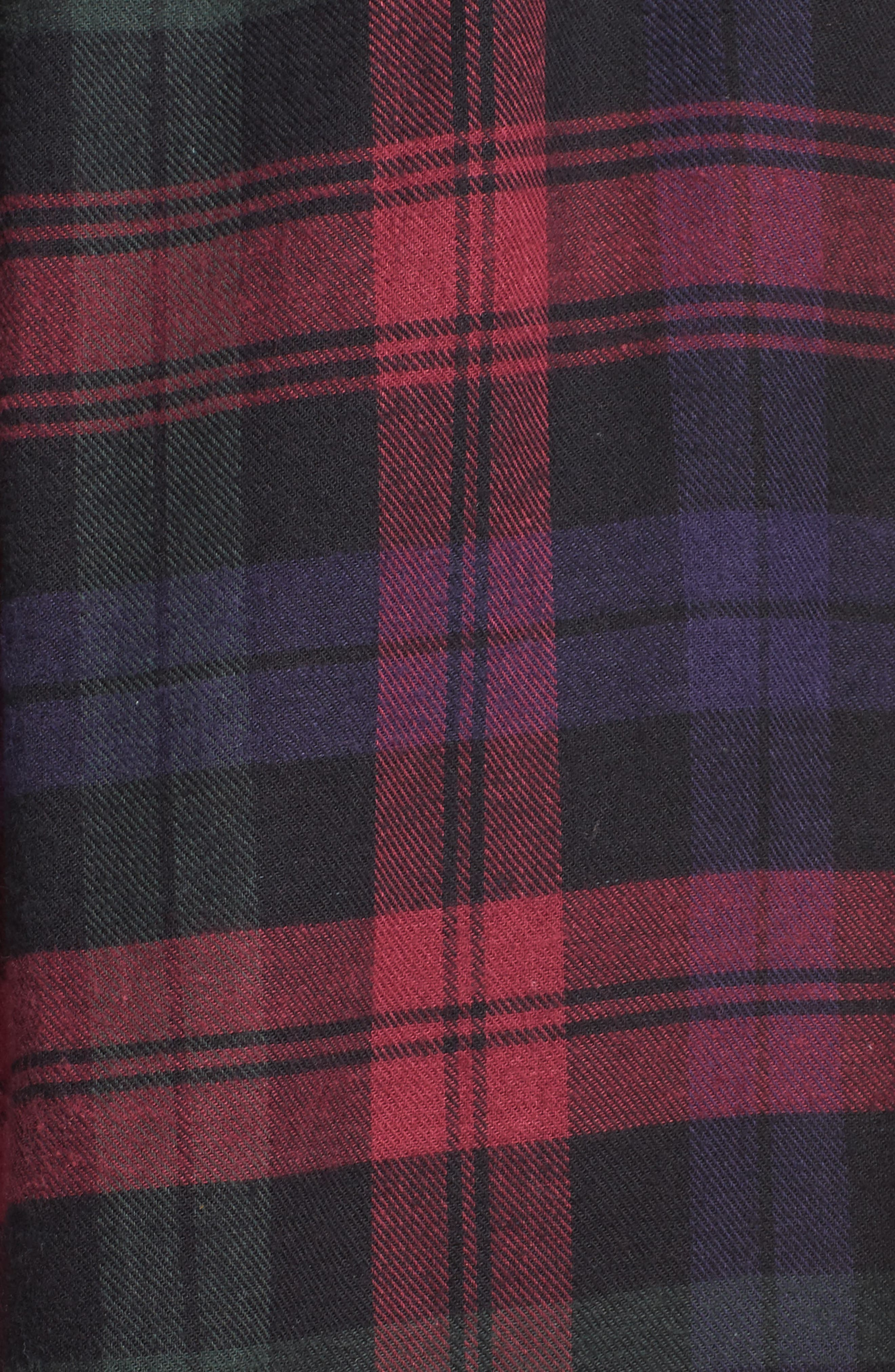 Ballet Flannel Nightgown,                             Alternate thumbnail 10, color,