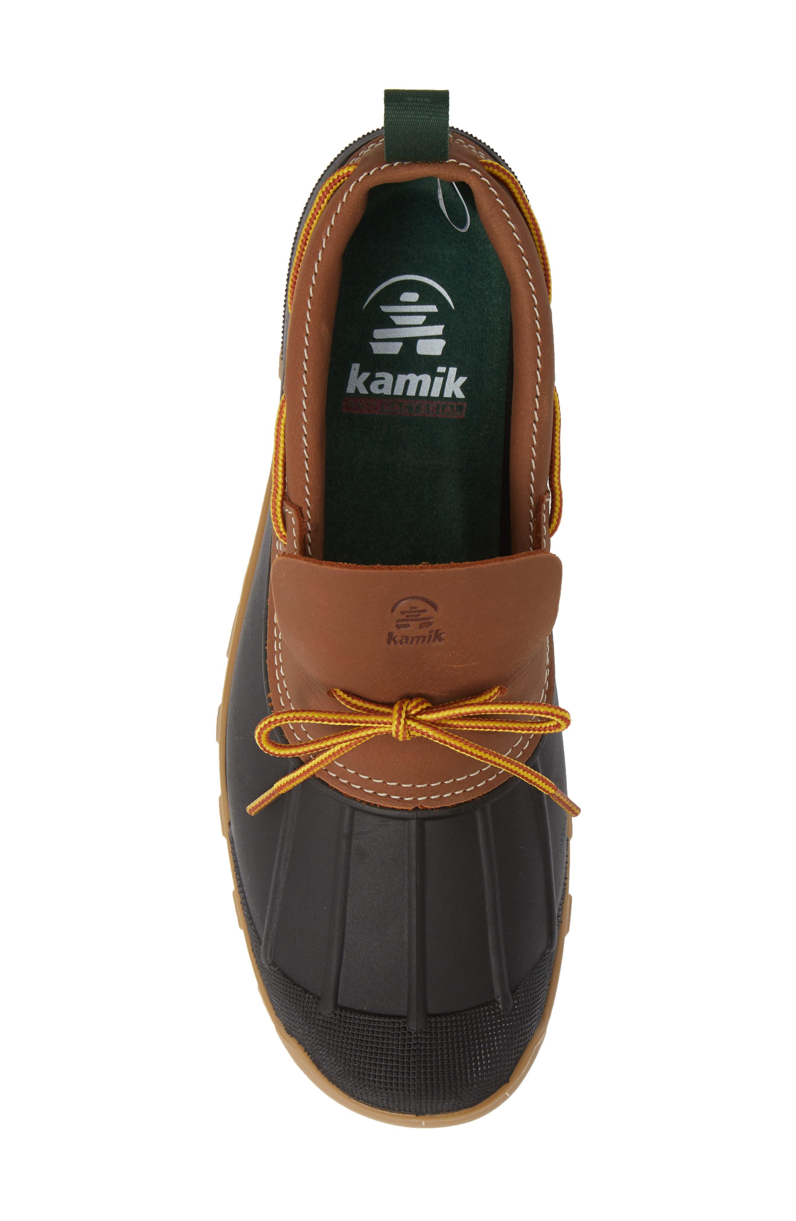 Yukon Short Waterproof Boot,                             Alternate thumbnail 5, color,                             TAN LEATHER