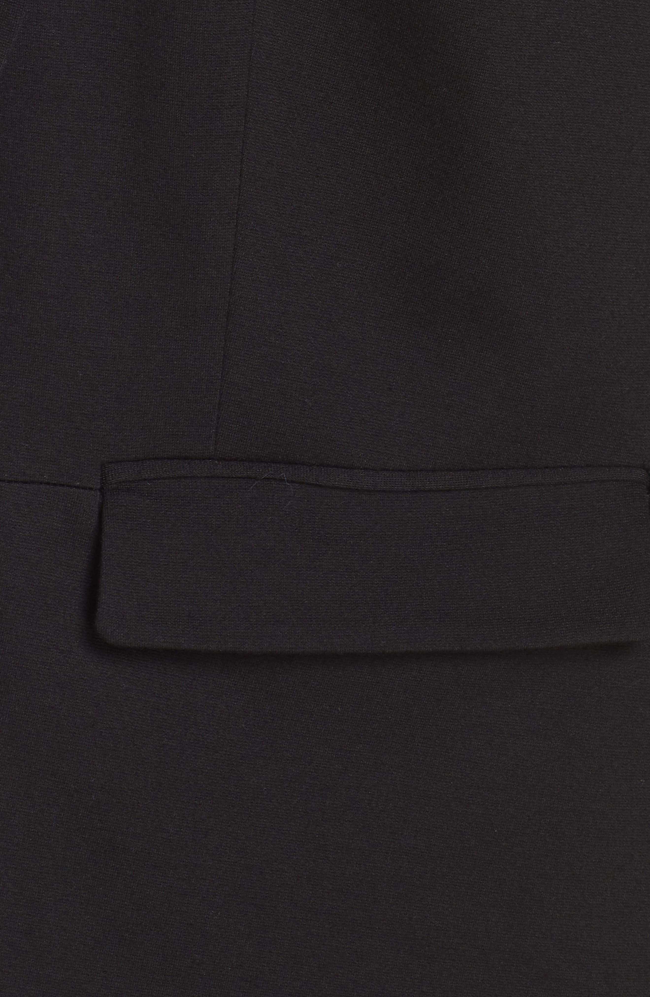Ponte Blazer,                             Alternate thumbnail 7, color,                             BLACK