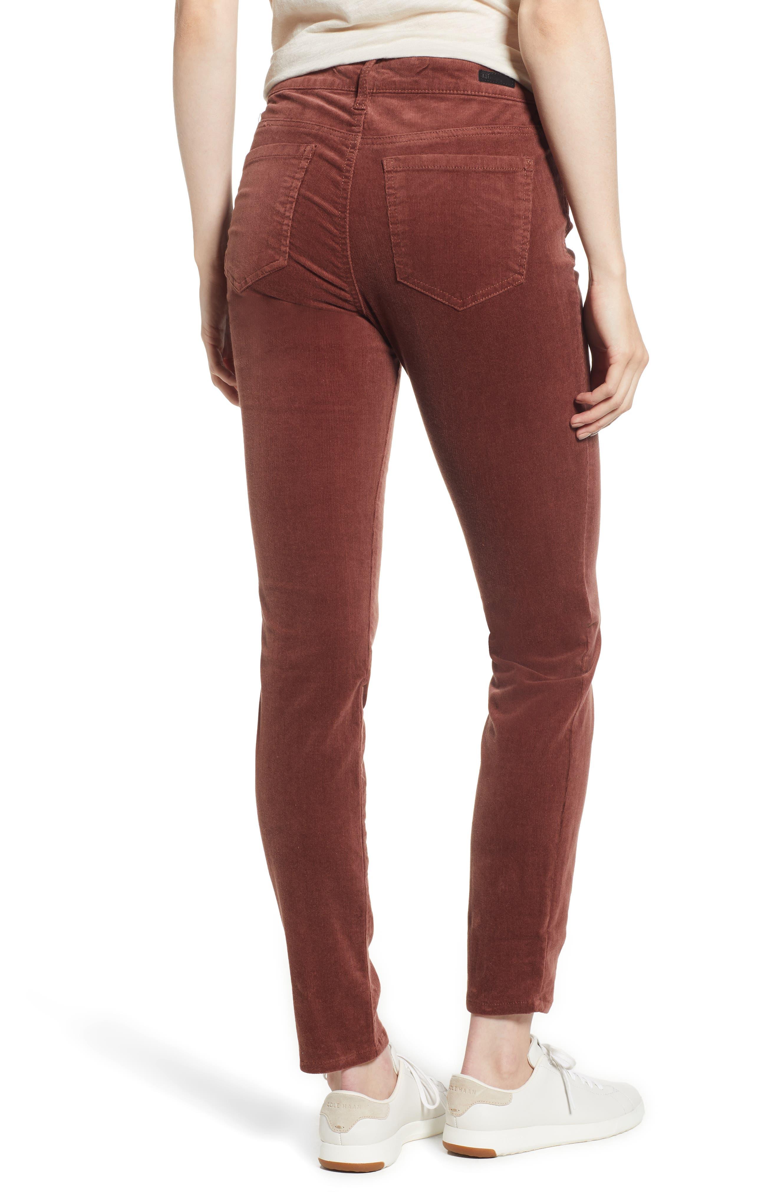 'Diana' Stretch Corduroy Skinny Pants,                             Alternate thumbnail 66, color,