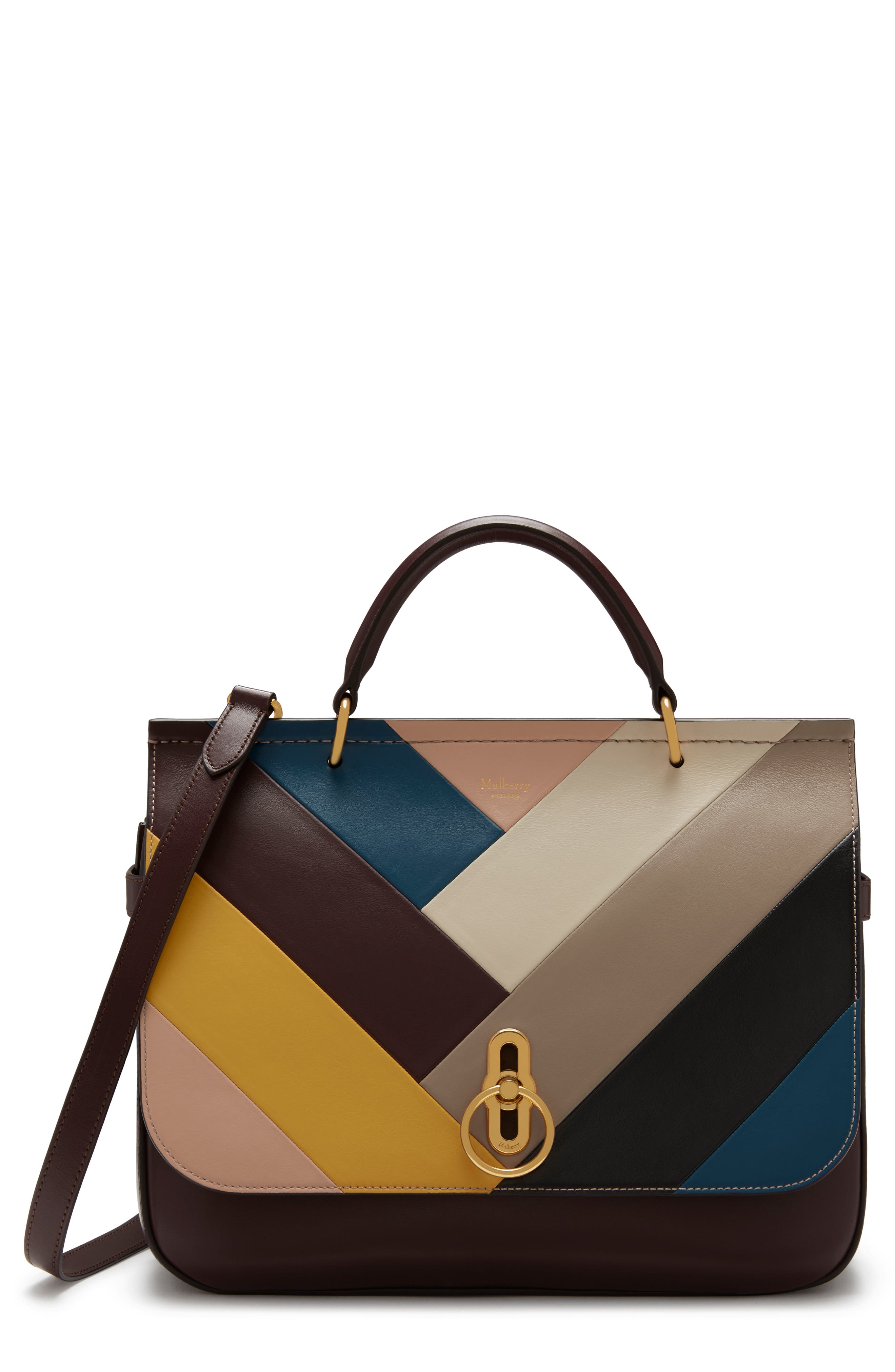 Amberley Colorblock Top Handle Bag,                         Main,                         color, 200