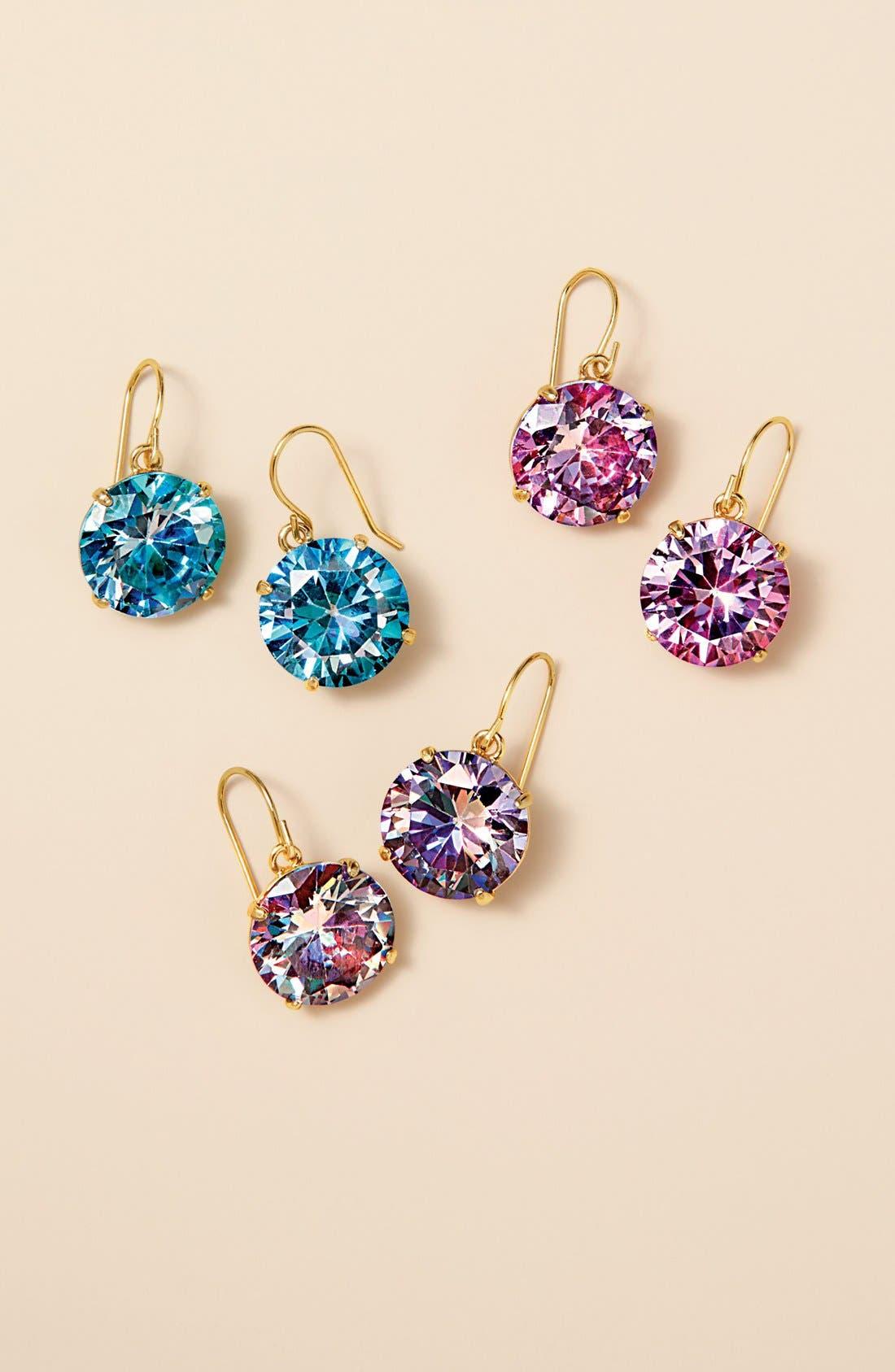 'shine on' drop earrings,                             Alternate thumbnail 2, color,                             001