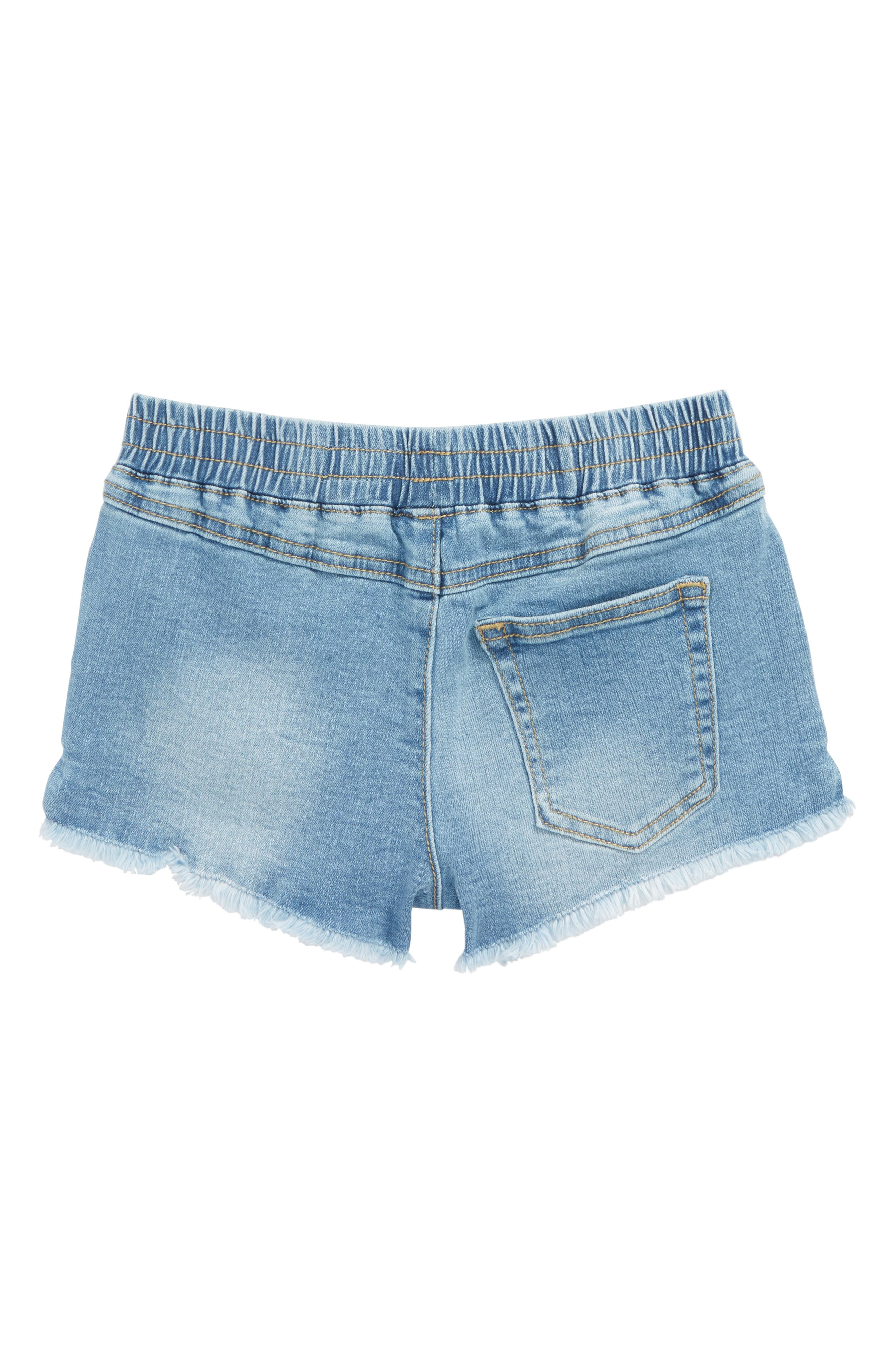 The Khloe Chambray Shorts,                             Alternate thumbnail 2, color,                             405