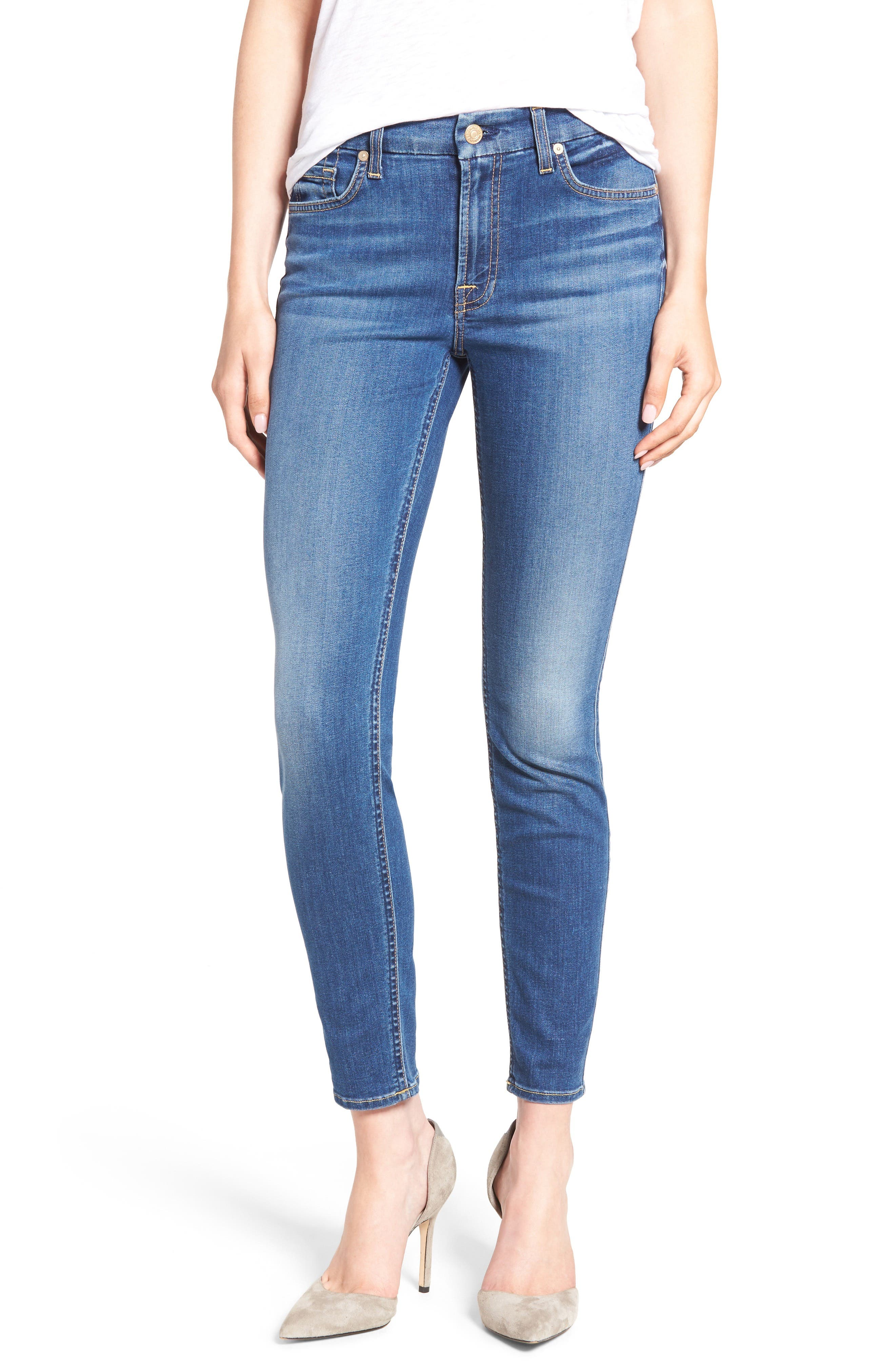 'b(air) - The Ankle' Skinny Jeans,                             Alternate thumbnail 10, color,