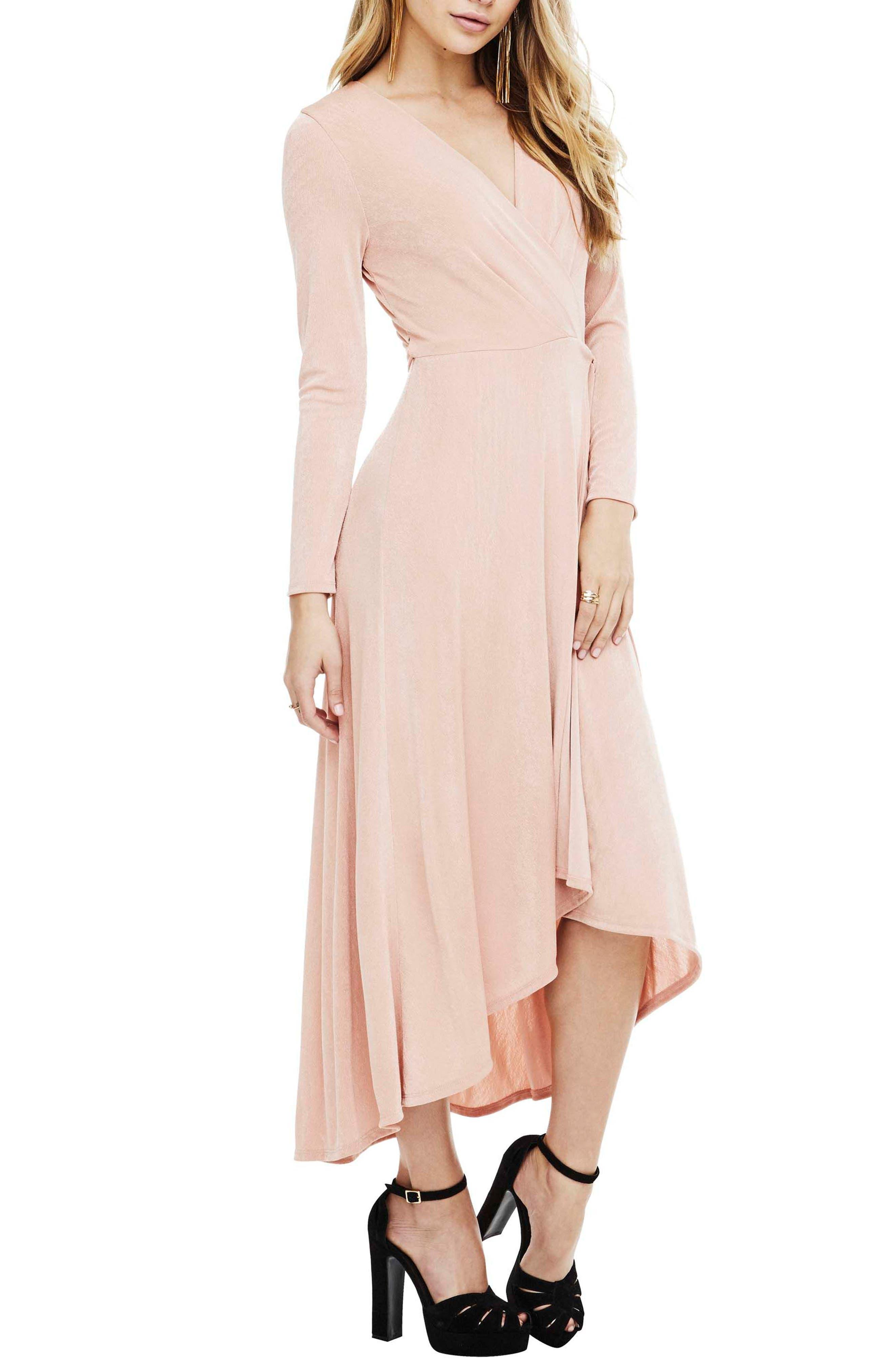 Melonie Wrap Dress,                             Alternate thumbnail 6, color,