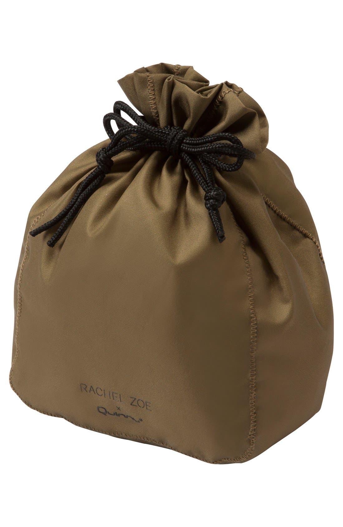x Rachel Zoe 'Jet Set' Canvas Diaper Bag,                             Alternate thumbnail 8, color,                             100