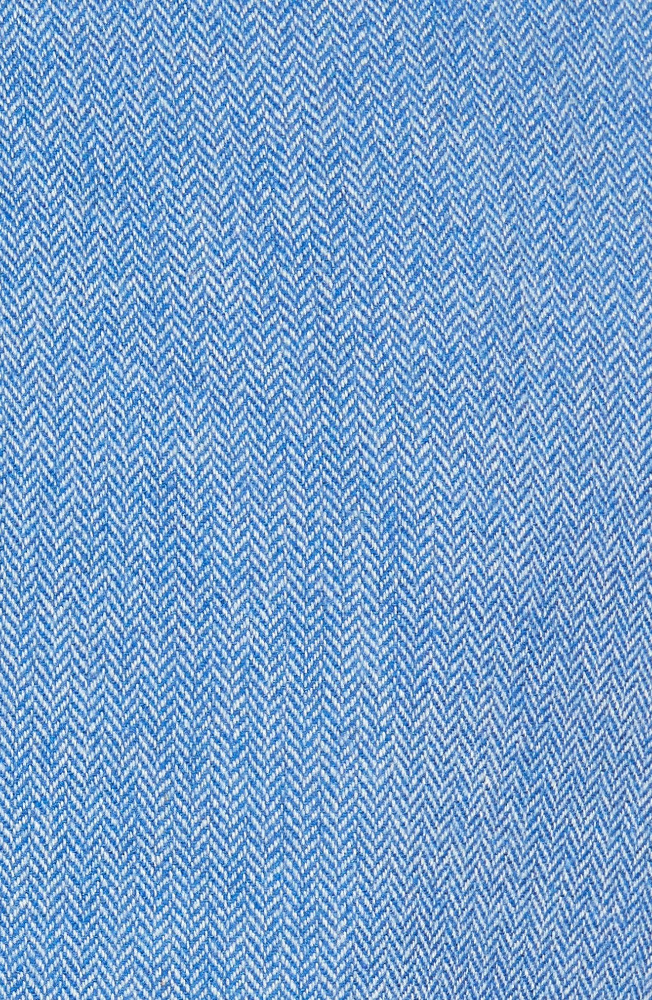 Diego Herringbone Dickey Jacket,                             Alternate thumbnail 6, color,                             BLUE