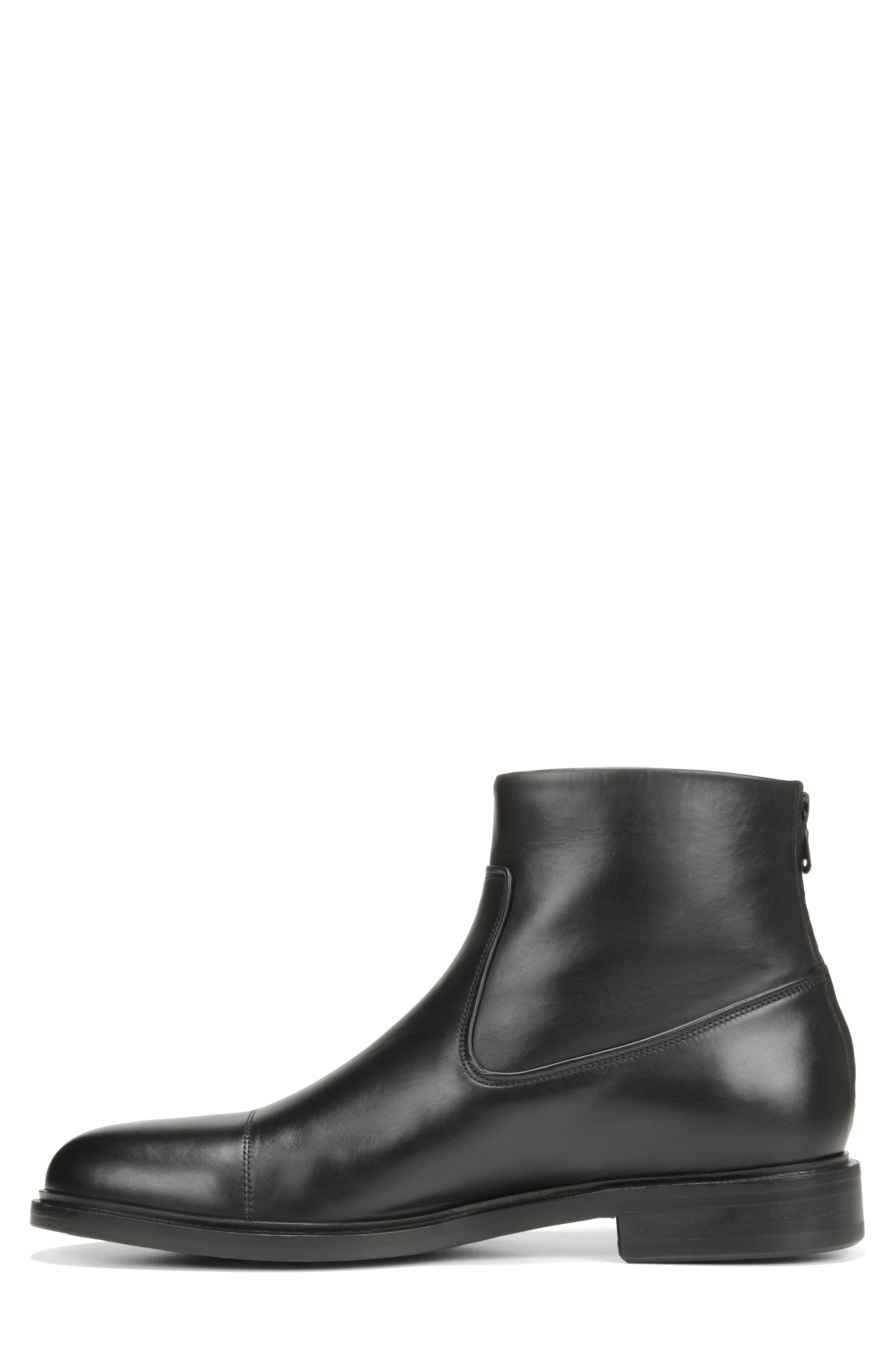 Beckett Zip Boot,                             Alternate thumbnail 9, color,                             BLACK