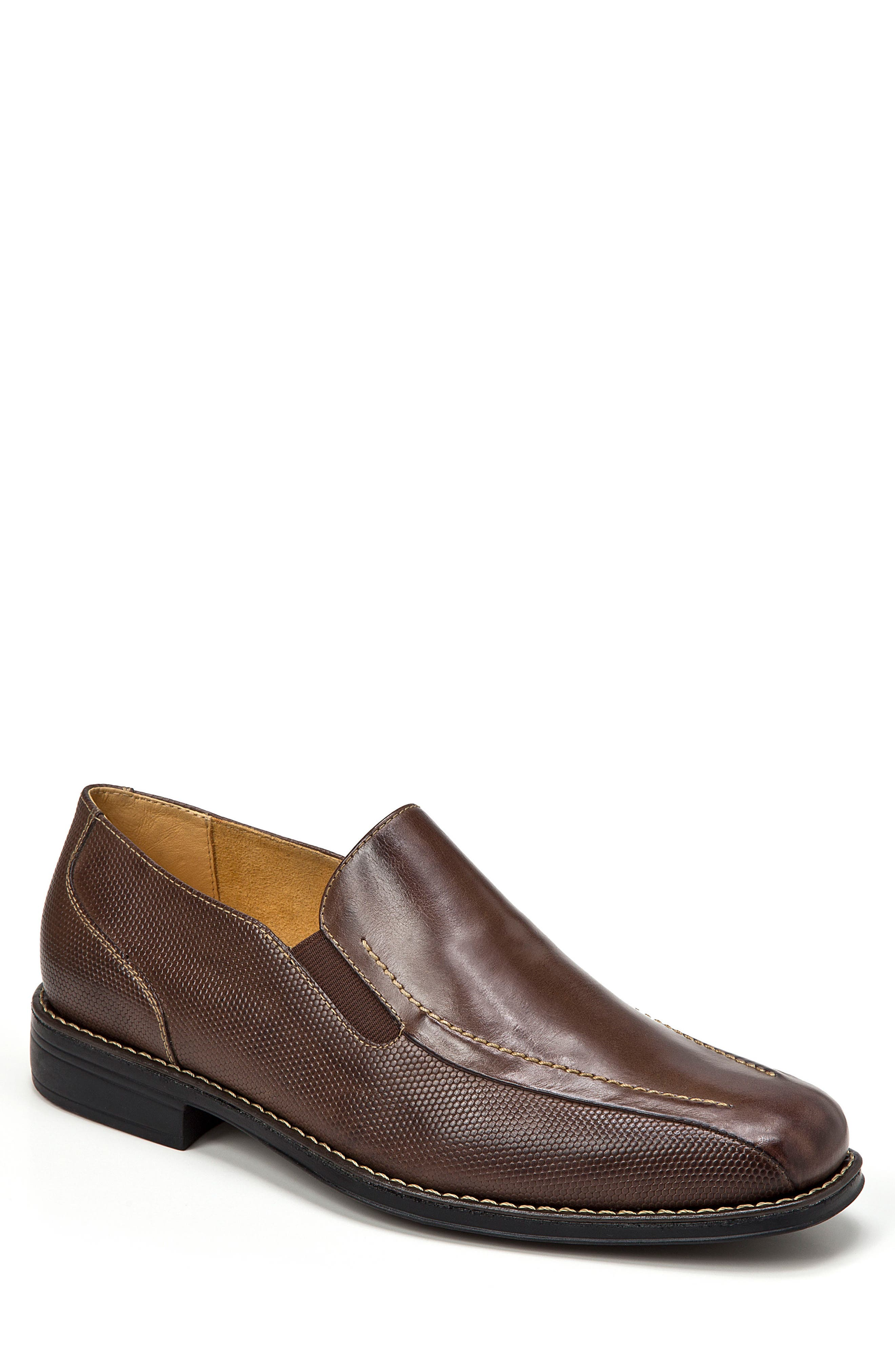 Enzo Venetian Loafer,                         Main,                         color, BROWN
