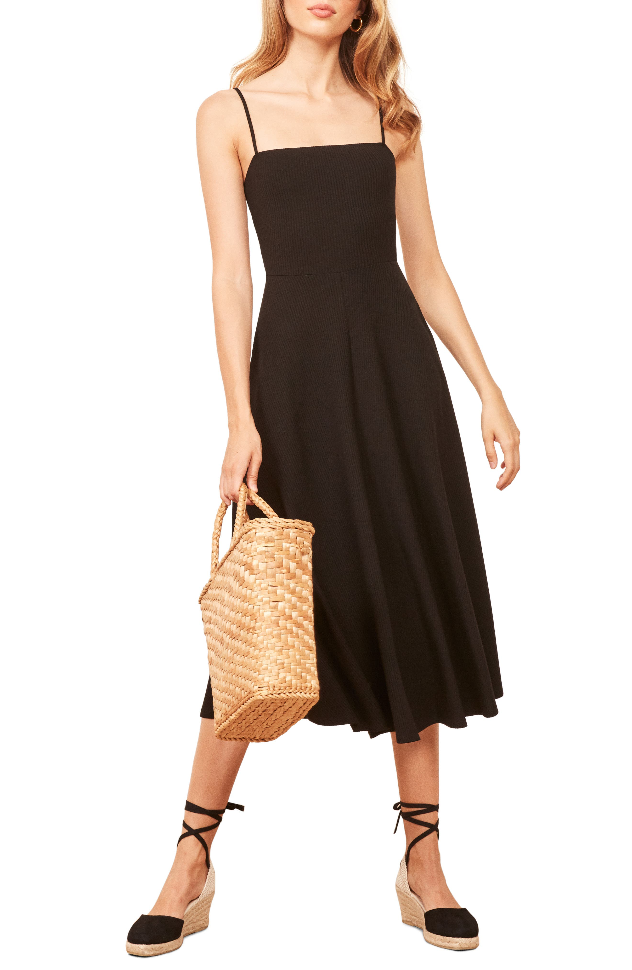 Bettie Dress,                             Main thumbnail 1, color,                             BLACK